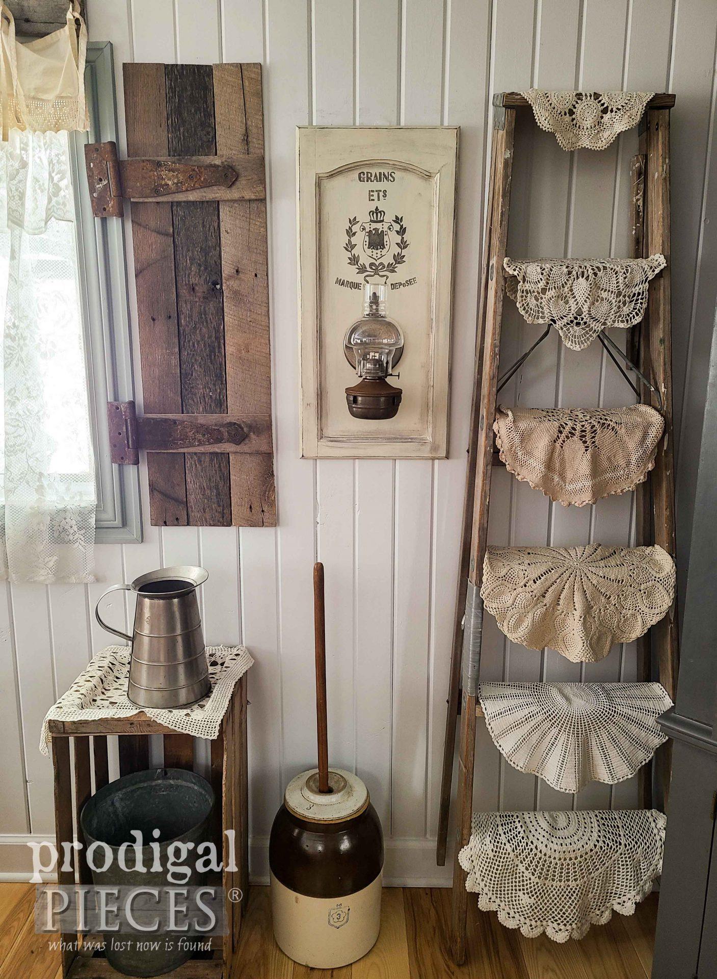 Farmhouse Oil Lamp for Home Decor by Larissa of Prodigal Pieces | prodigalpieces.com #prodigalpieces #farmhouse #diy #home #homedecor