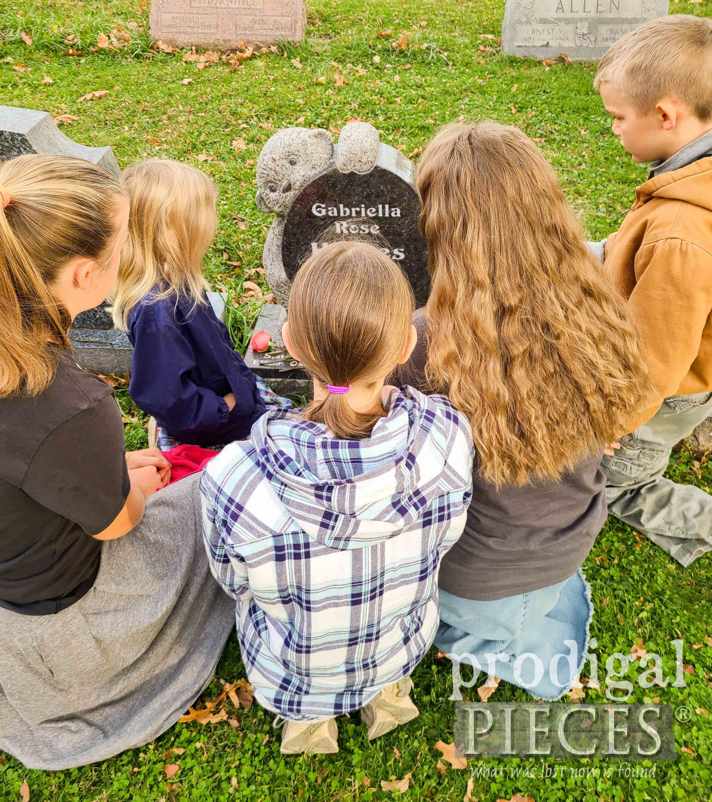 Prodigal Pieces Kids Graveside | prodigalpieces.com