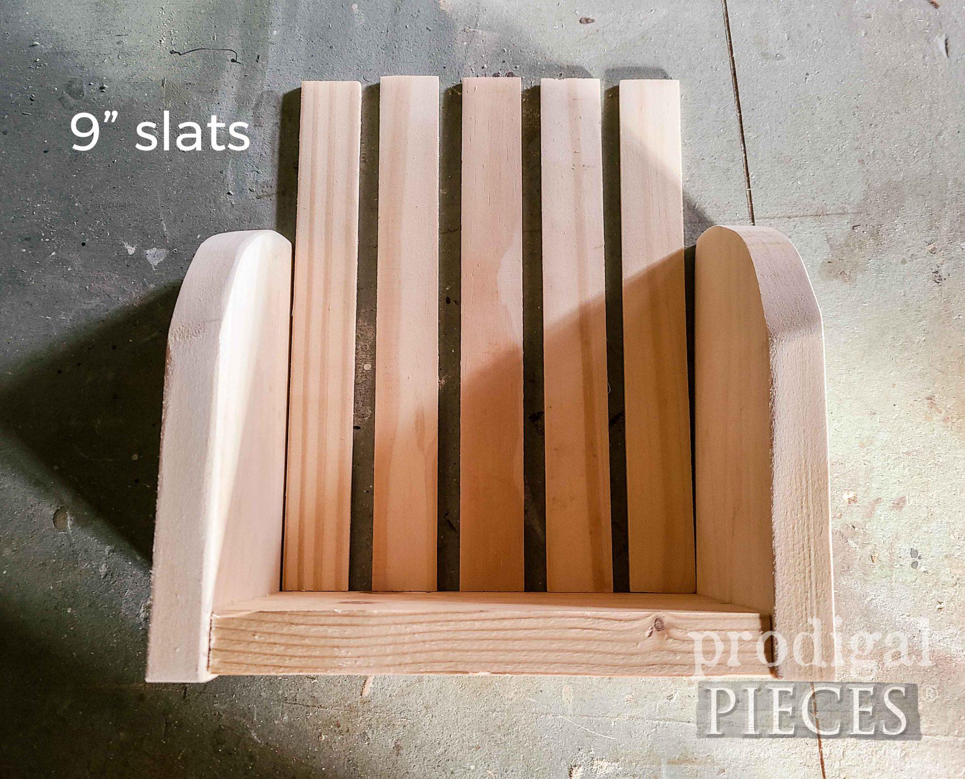 Stir Stick Slats Attached | prodigalpieces.com