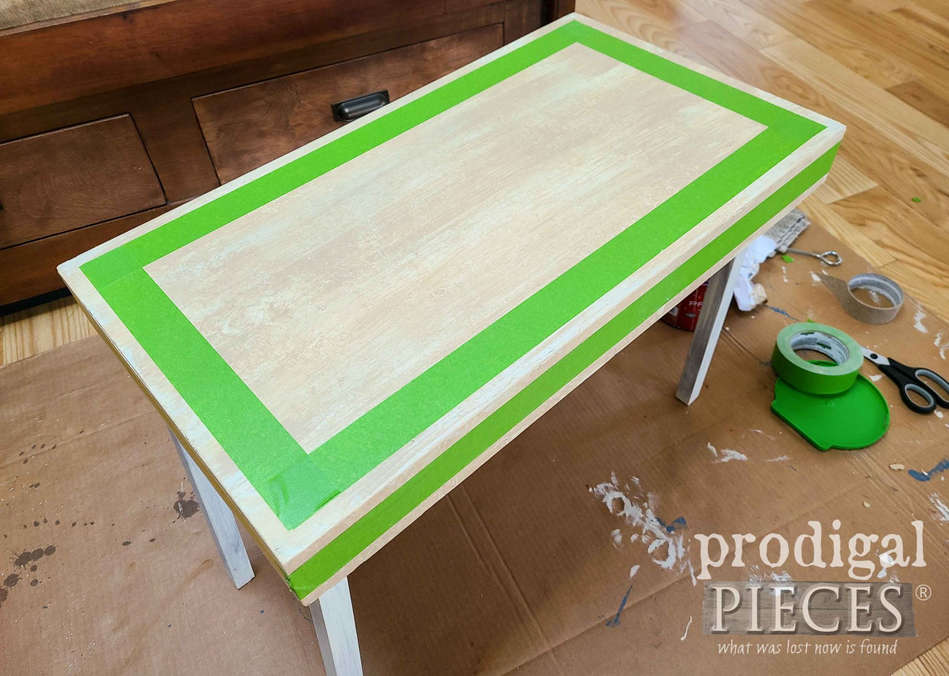 Taped Off Folding Table | prodigalpieces.com