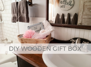DIY Wooden Gift Box with Tutorial for 3 Different Last-Minute Gifts by Larissa of Prodigal Pieces   prodigalpieces.com #prodigalpieces