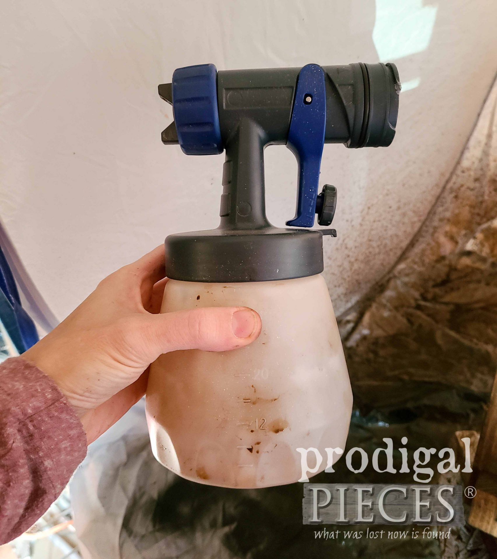 Quick Finish Sprayer Cleanup | prodigalpieces.com