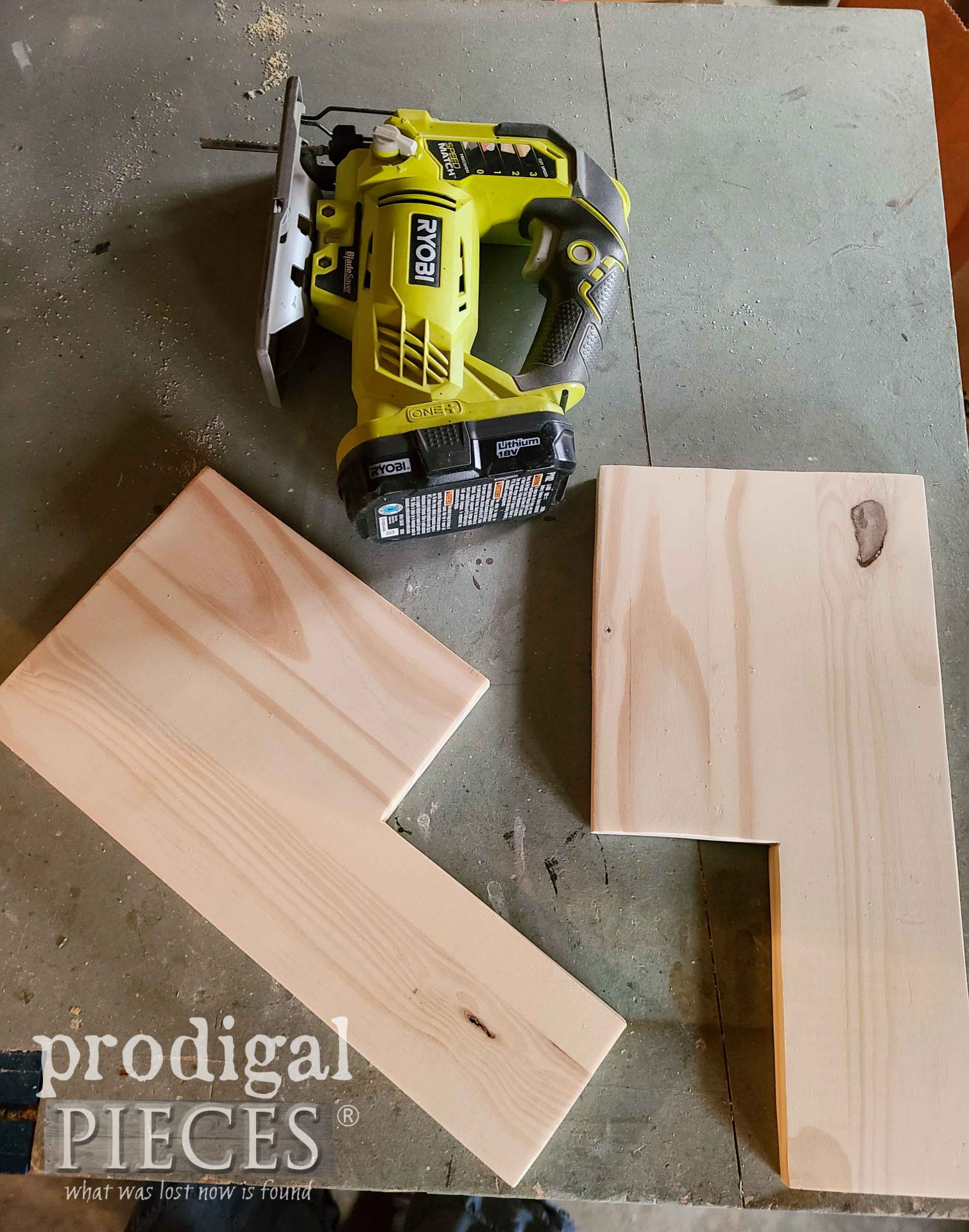 DIY Wood Slat Step Stool Side Parts by Prodigal Pieces | prodigalpieces.com #prodigalpieces