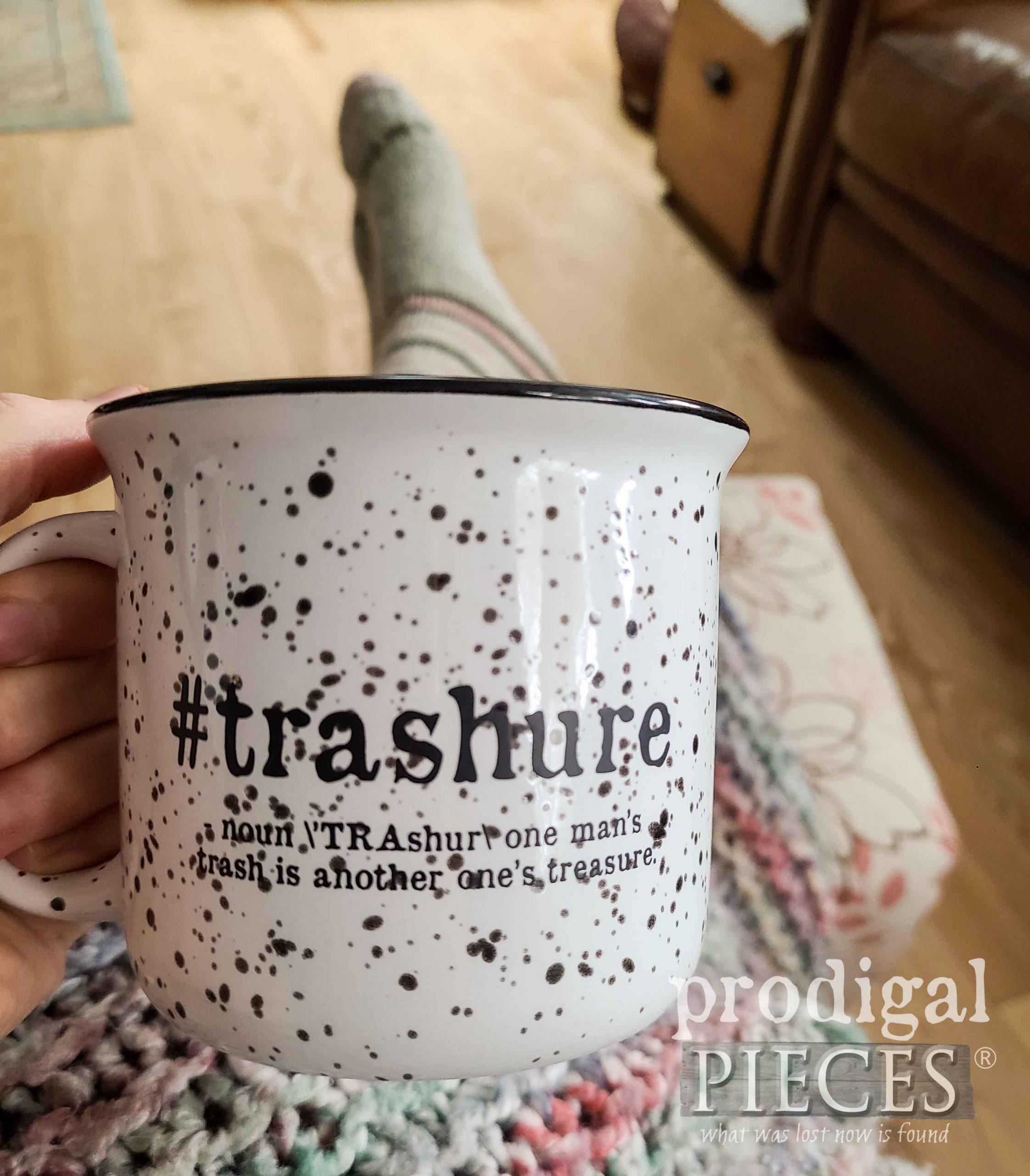 Prodigal Pieces #trashure campfire mug by Larissa at prodigalpieces.com #prodigalpieces