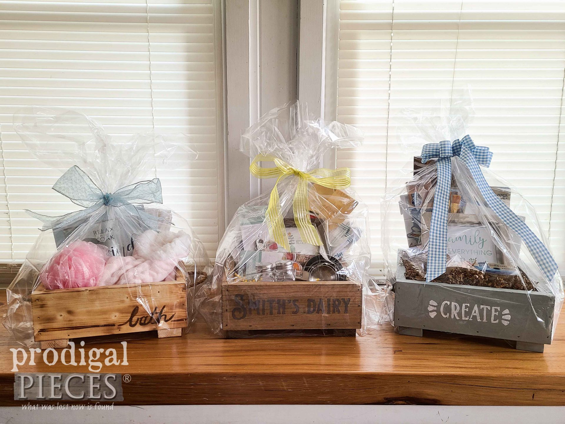 Wrapped Gift Boxes for DAV Disabled American Veterans by Larissa of Prodigal Pieces | prodigalpieces.com #prodigalpieces #veterans