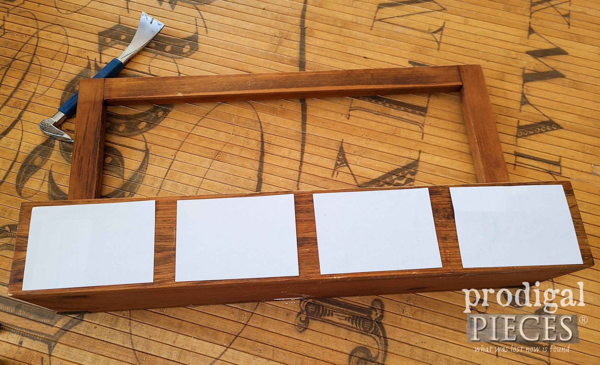 Apothecary Wall Box Template | prodigalpieces.com