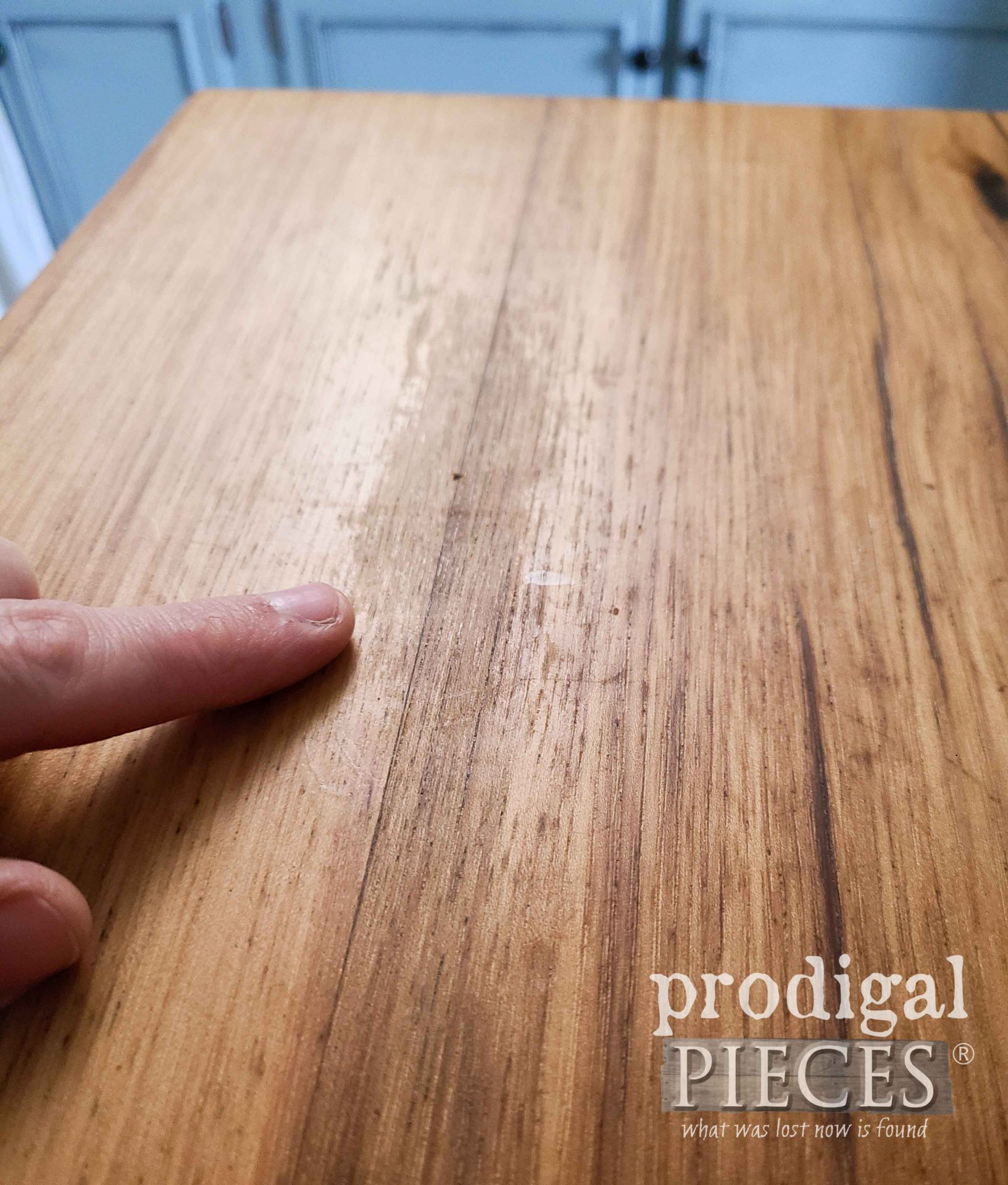 Wood Countertop Damage | prodigalpieces.com #prodigalpieces #home #kitchen #farmhouse