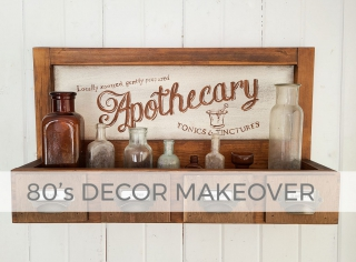 Gallery 80's Decor Makeover by Larissa of Prodigal Pieces   prodigalpieces.com #prodigalpieces