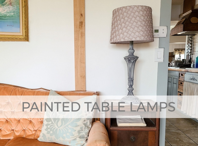Painted Table Lamps The Easy Way by Larissa of Prodigal Pieces | prodigalpieces.com #prodigalpieces