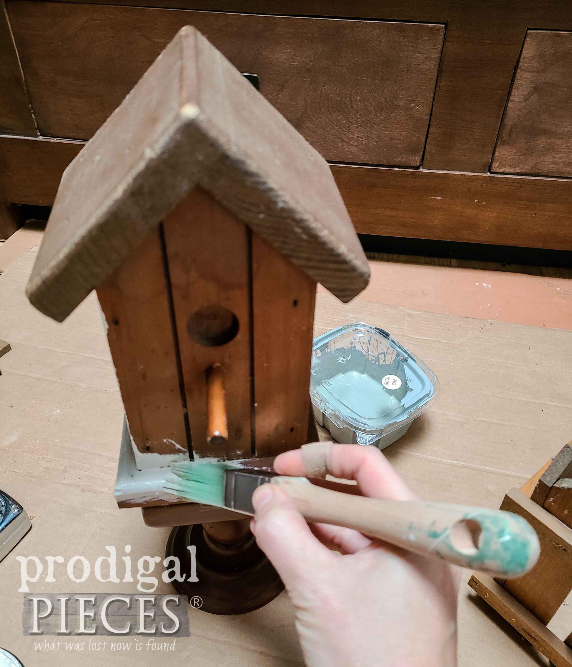 Painting Birdhouse Home Decor | prodigalpieces.com #prodigalpieces