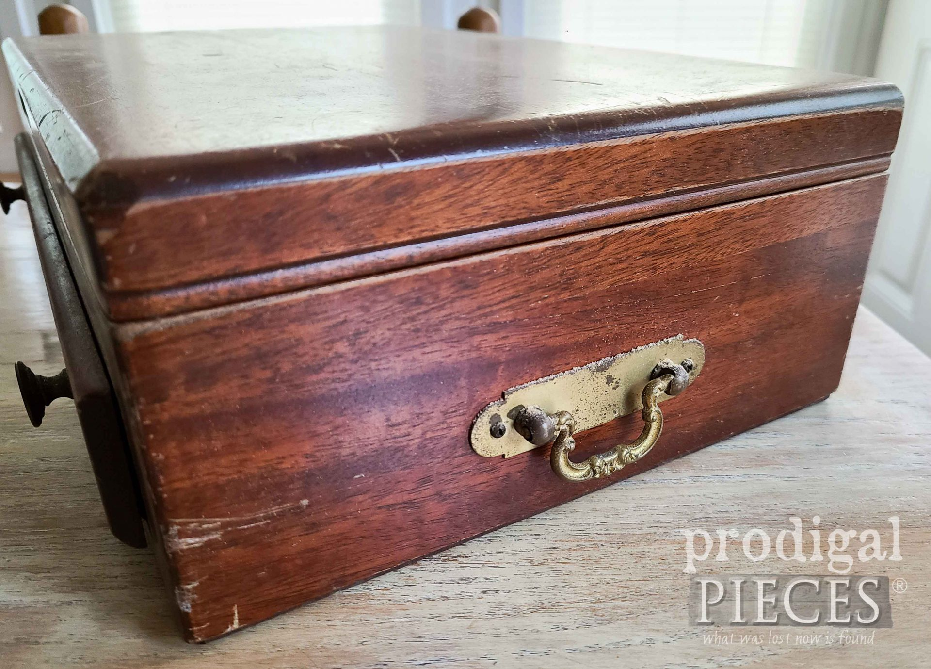 Silverware Chest Side Handles | prodigalpieces.com