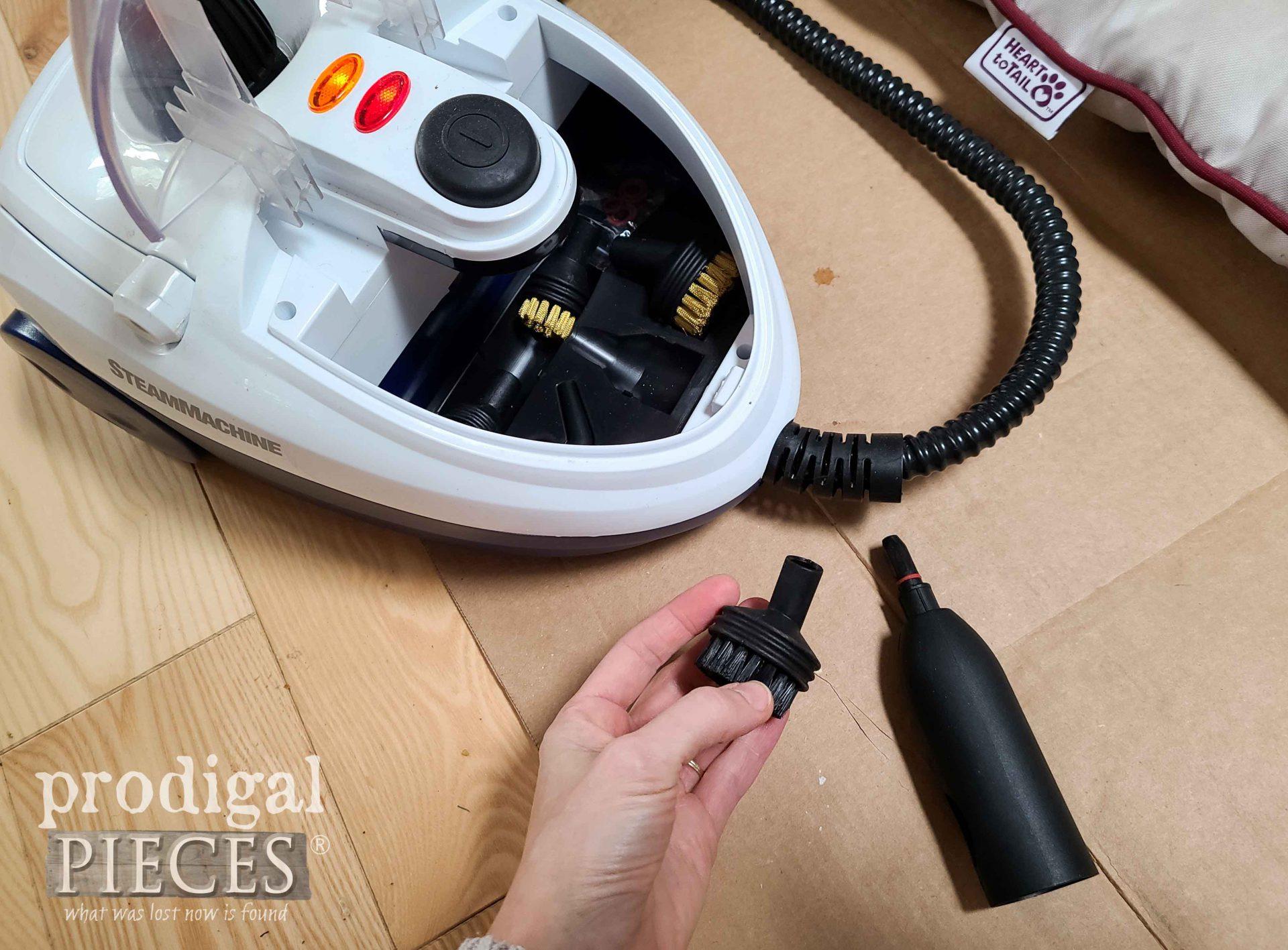 HomeRight SteamMachine Attachments | prodigalpieces.com #prodigalpieces