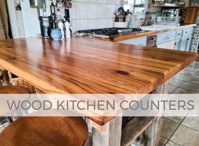 How to Finish Wood Kitchen Counters the Right Way by Larissa of Prodigal Pieces | prodigalpieces.com #prodigalpieces