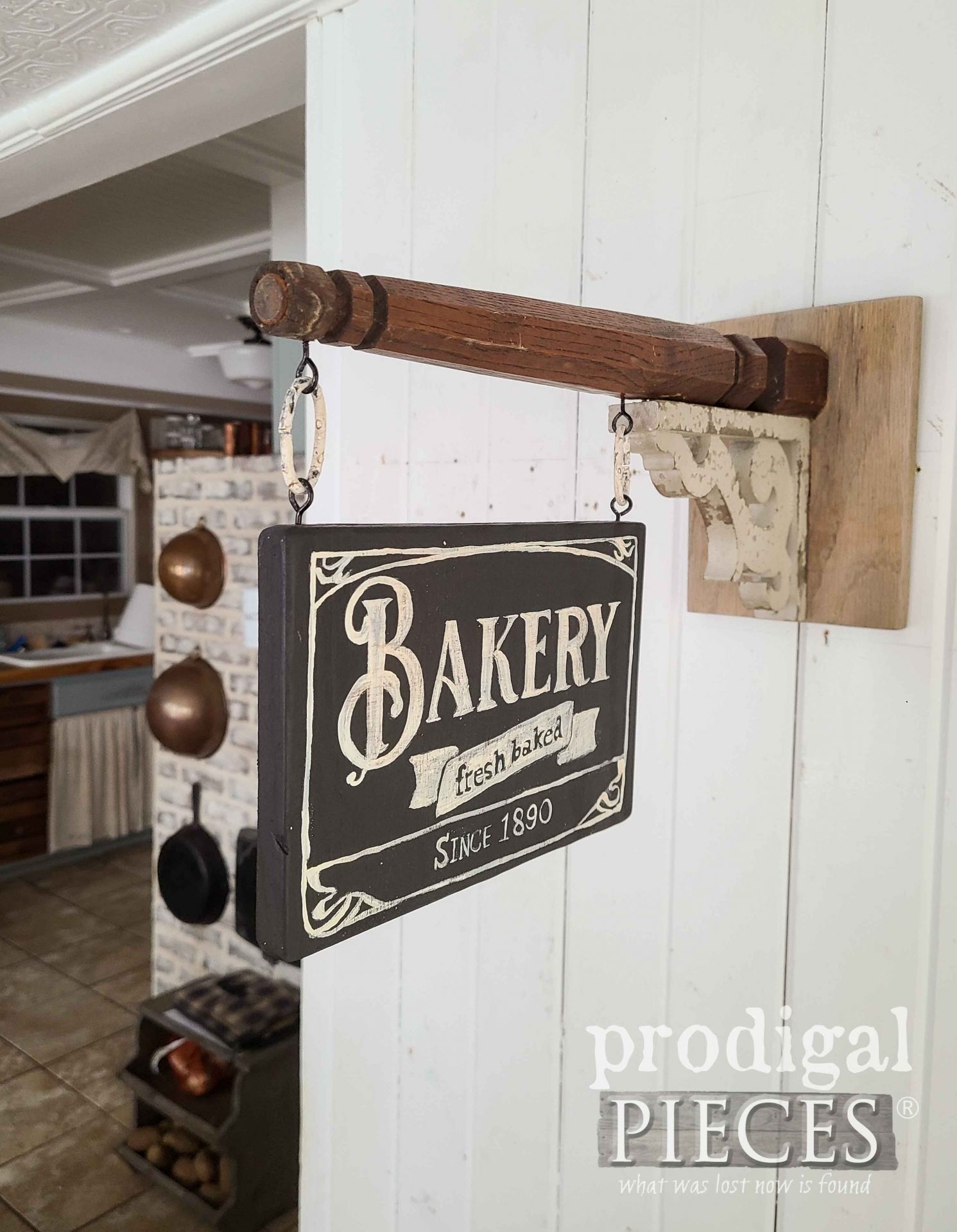 Farmhouse Kitchen Decor Baking Sign by Larissa of Prodigal Pieces | prodigalpieces.com #prodigalpieces #farmhouse #home #diy