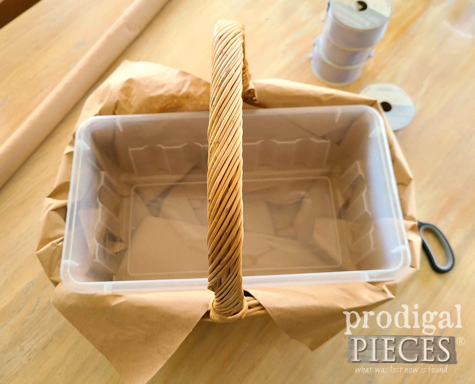 Centerpiece Filler with Plastic Container | prodigalpieces.com