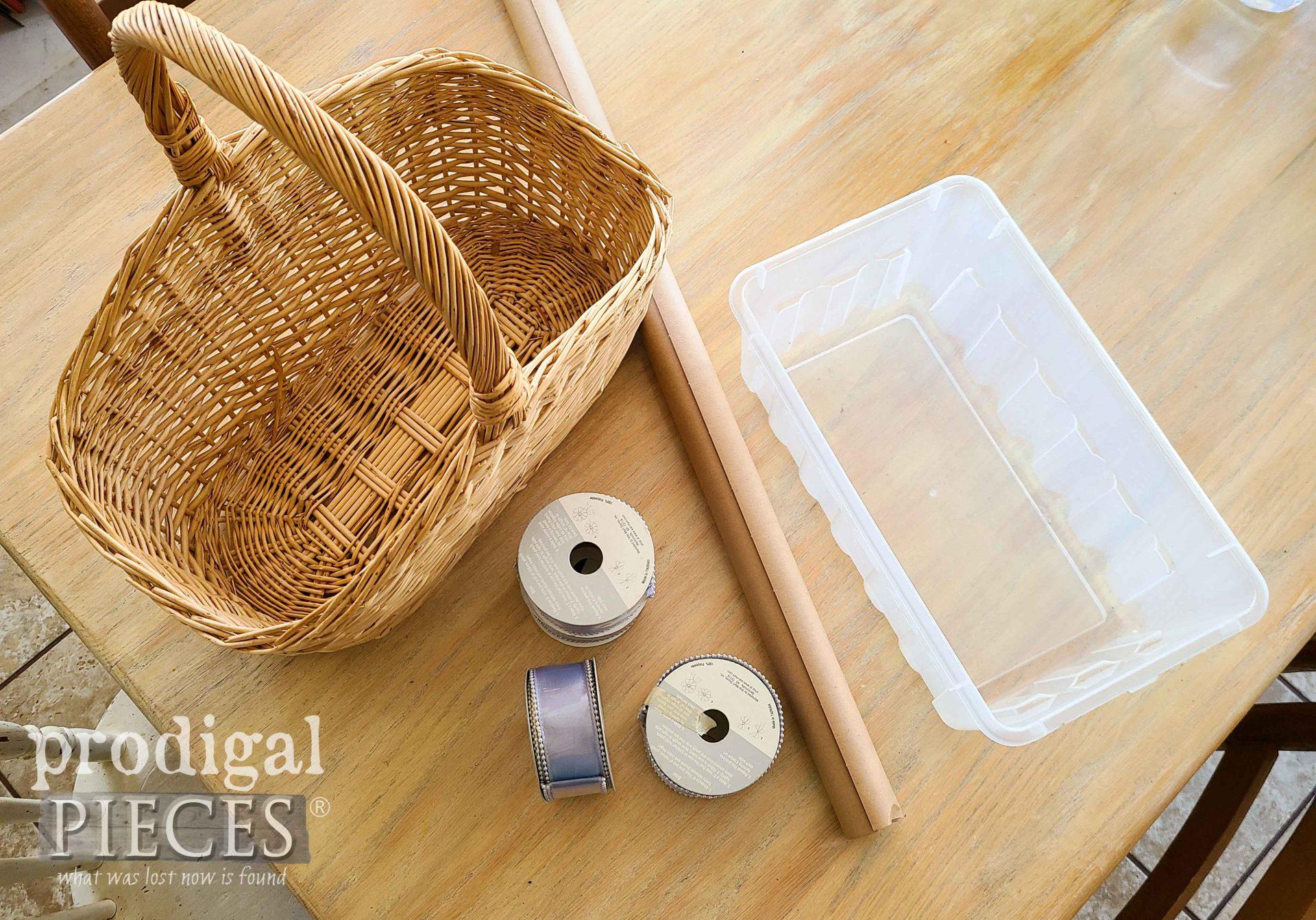 DIY Easter Centerpiece Supplies by Prodigal Pieces | prodigalpieces.com