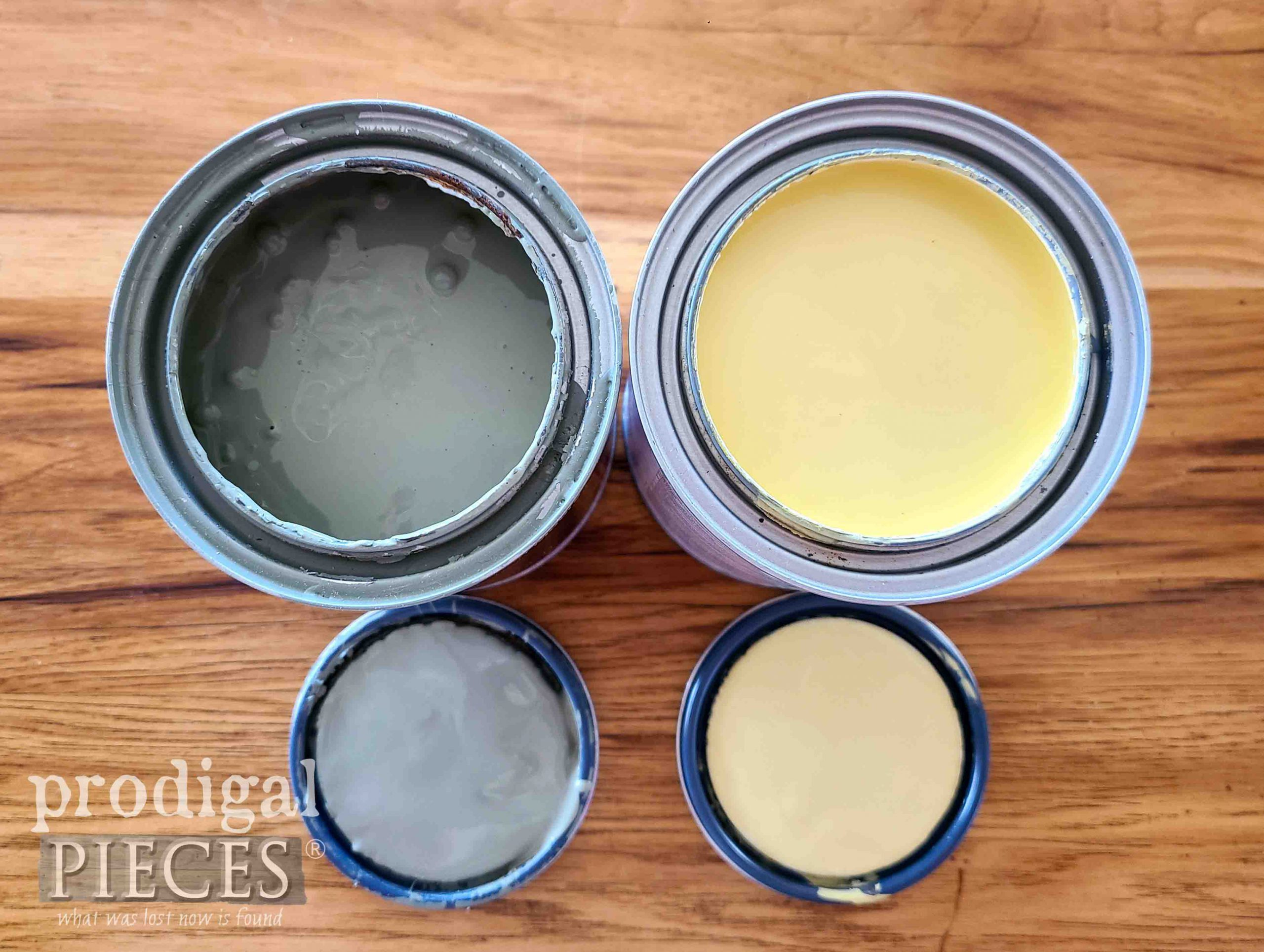 Soft Spring Paint Colors for Repurposed Silverware Boxes by Larissa of Prodigal Pieces | prodigalpieces.com #prodigalpieces