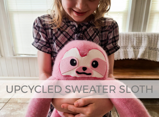 Upcycled Sweater Sloth by Larissa of Prodigal Pieces | prodigalpieces.com #prodigalpieces