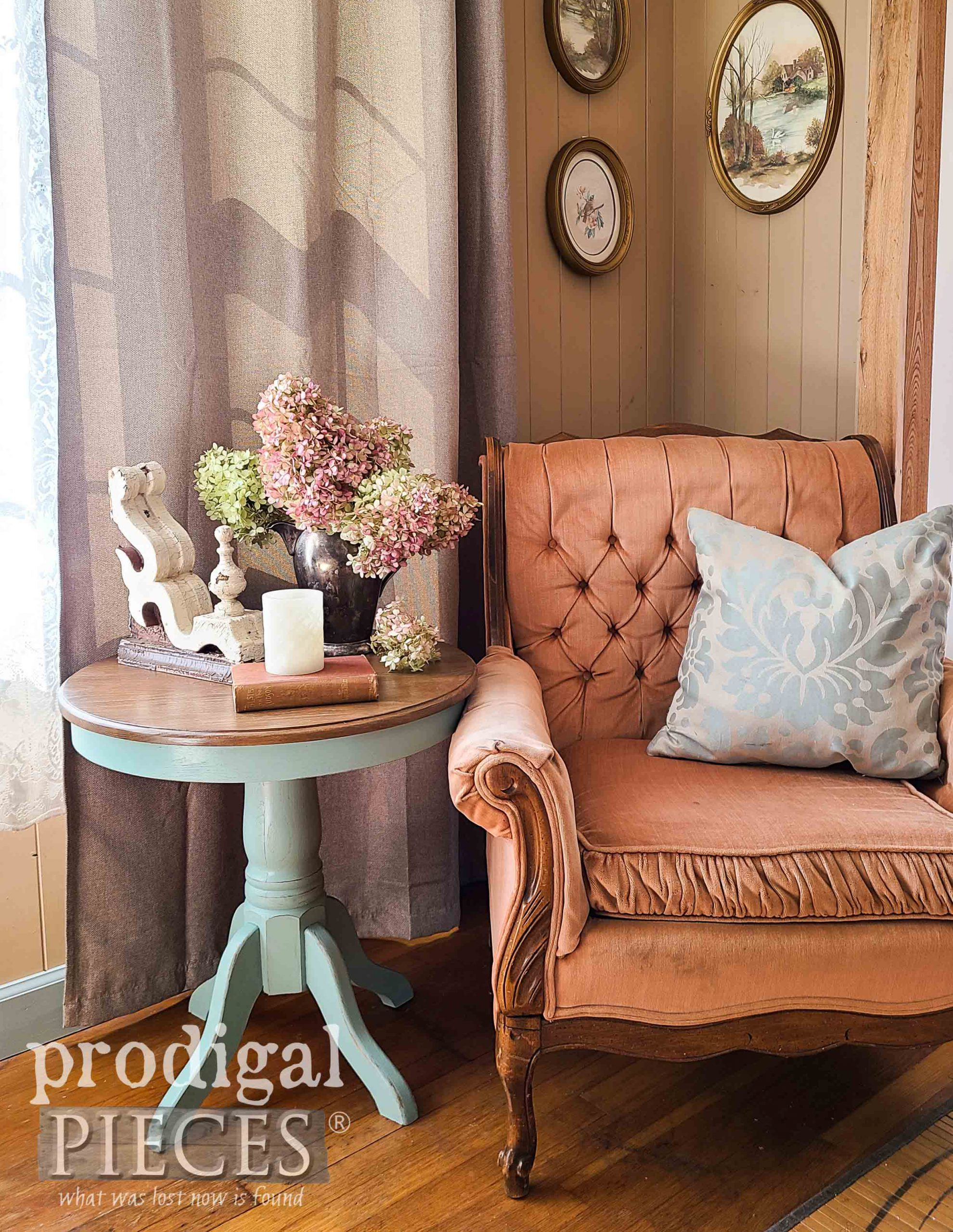 Vintage Style Home with DIY Decor by Larissa of Prodigal Pieces | prodigalpieces.com #prodigalpieces #vintage #home #furniture #homedecor