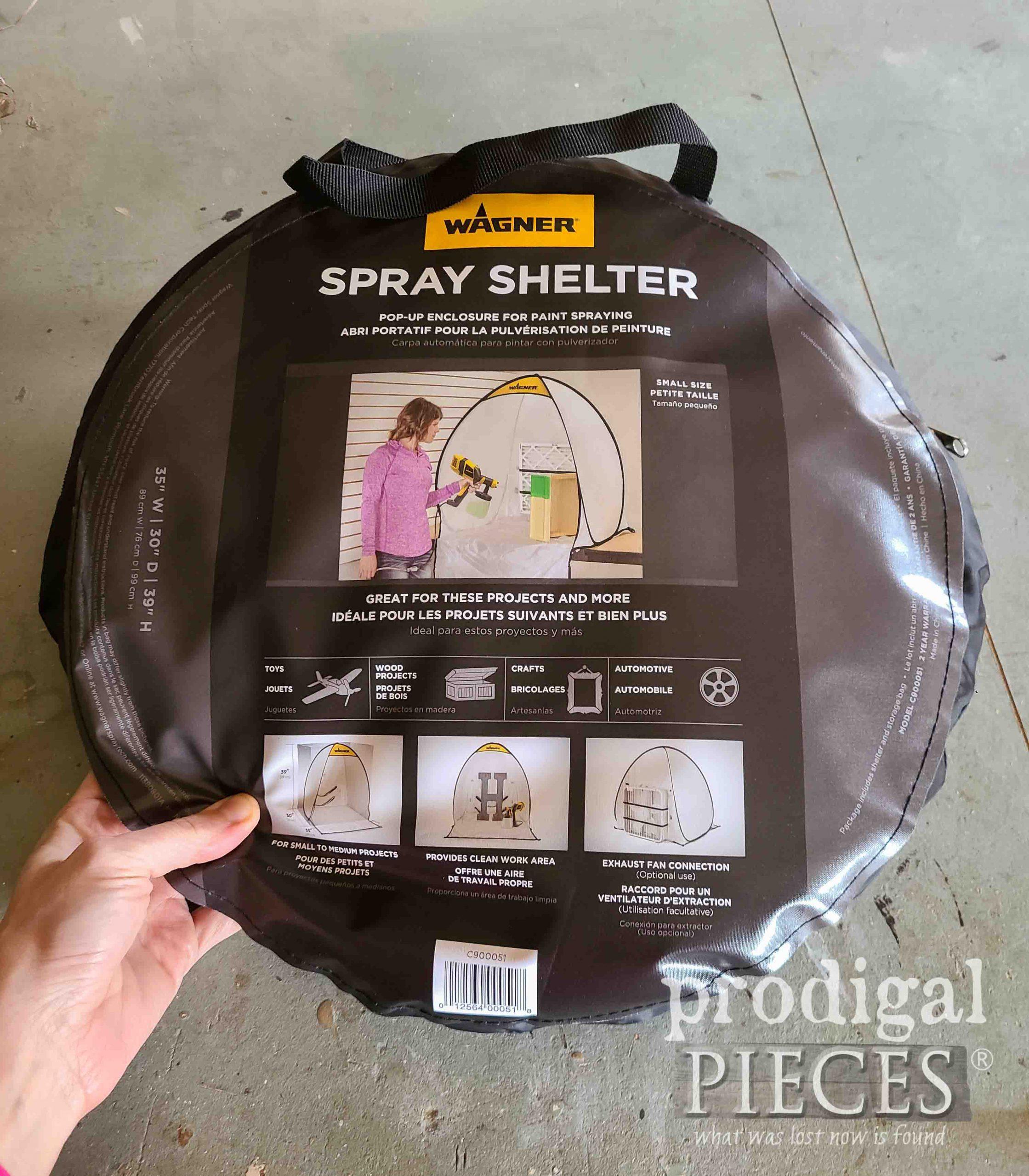 Wagner Small Spray Shelter   prodigalpieces.com