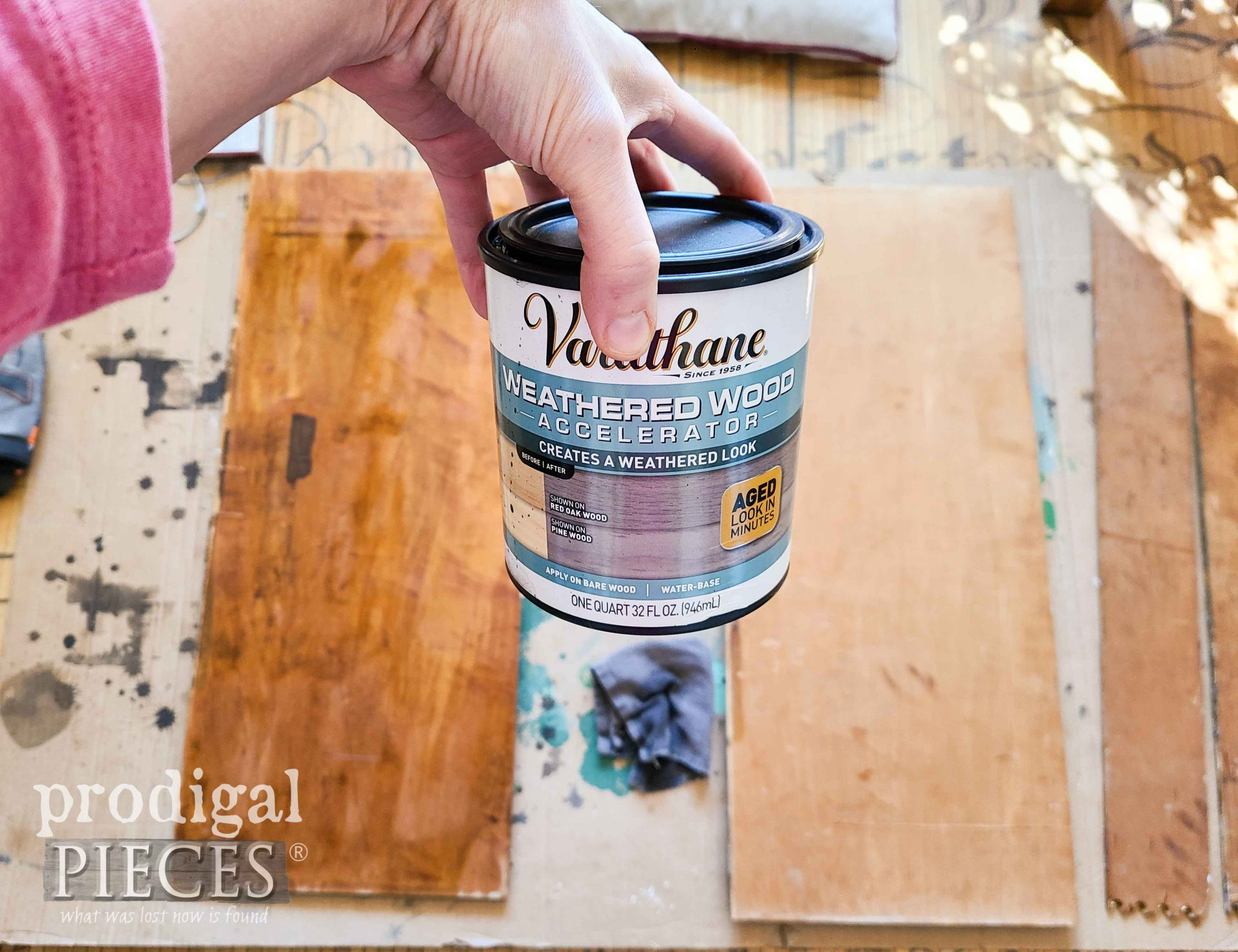 Weathered Wood Accelerated Reactive Stain | prodigalpieces.com