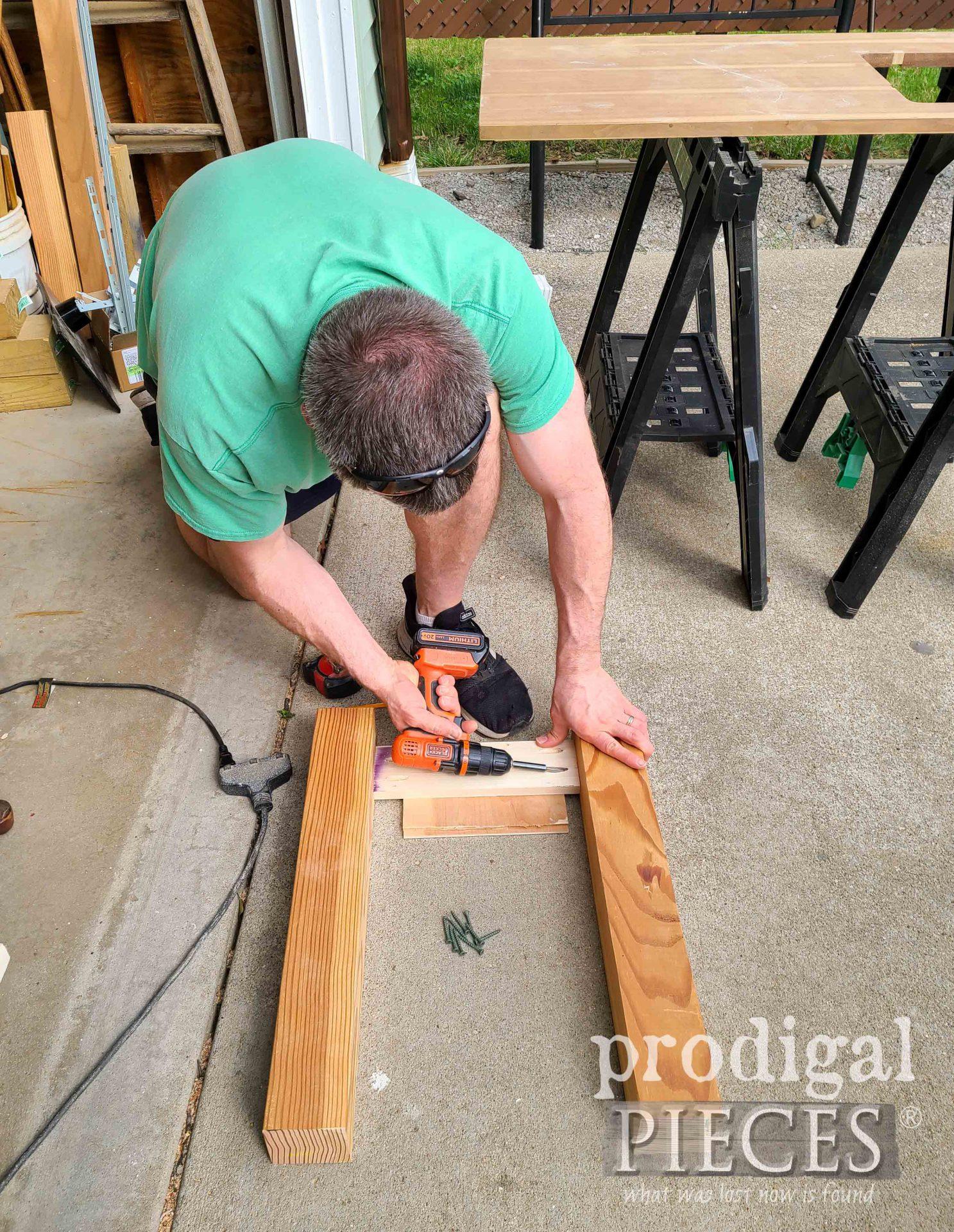 Assembling Mud Bar Frame | prodigalpieces.com