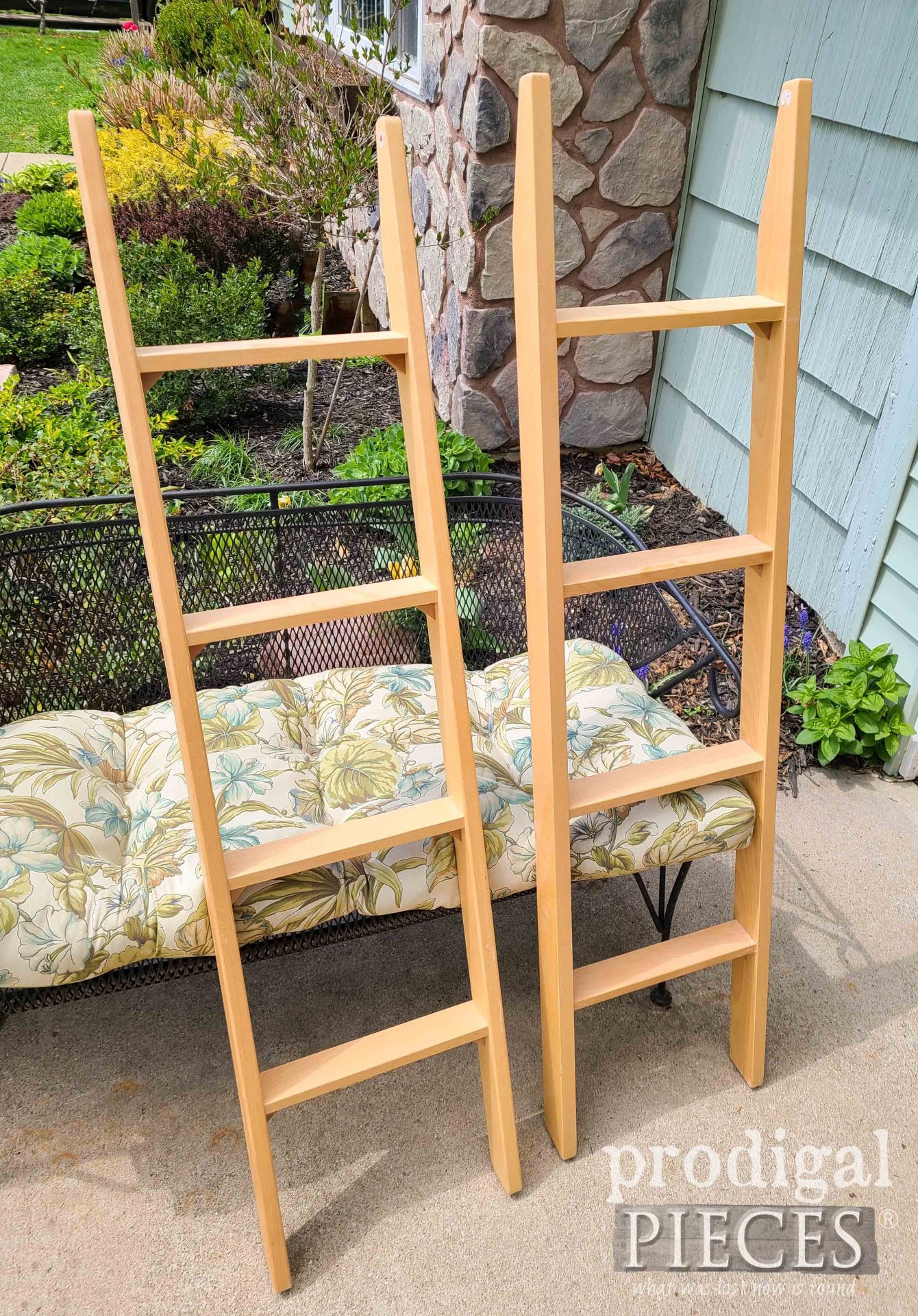 Misfit Bunk Bed Ladders Before | prodigalpieces.com