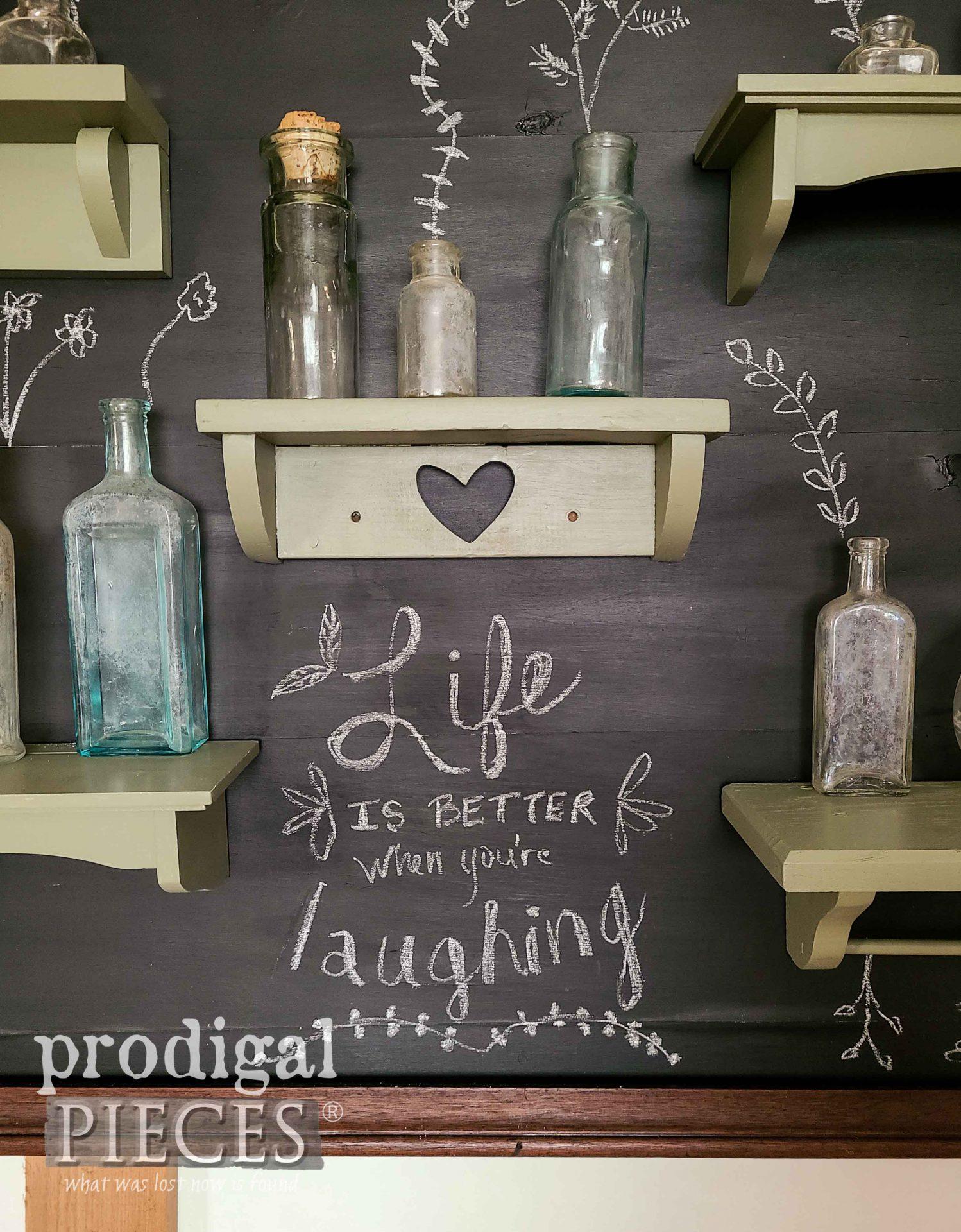 Chalkboard Art by Larissa of Prodigal Pieces | prodigalpieces.com #prodigalpieces #chalkboard #diy #home