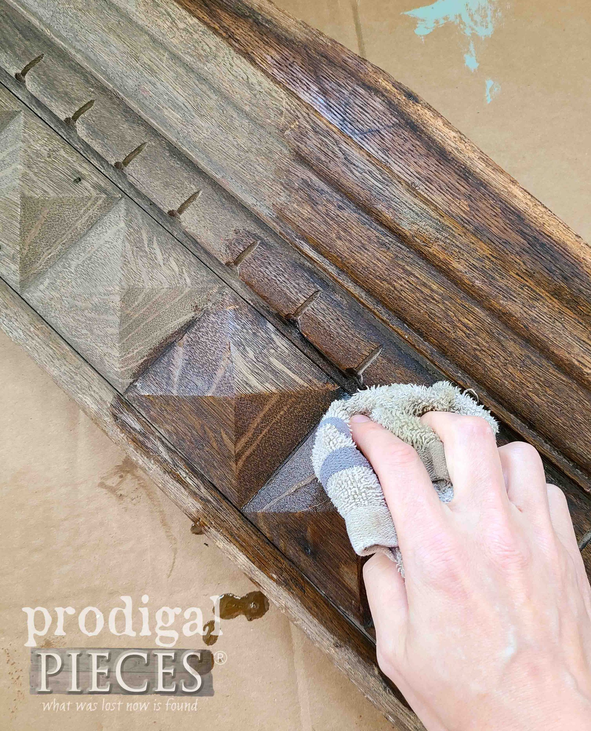 Oiling Old Wood for Restoration by Prodigal Pieces   prodigalpieces.com #prodigalpieces