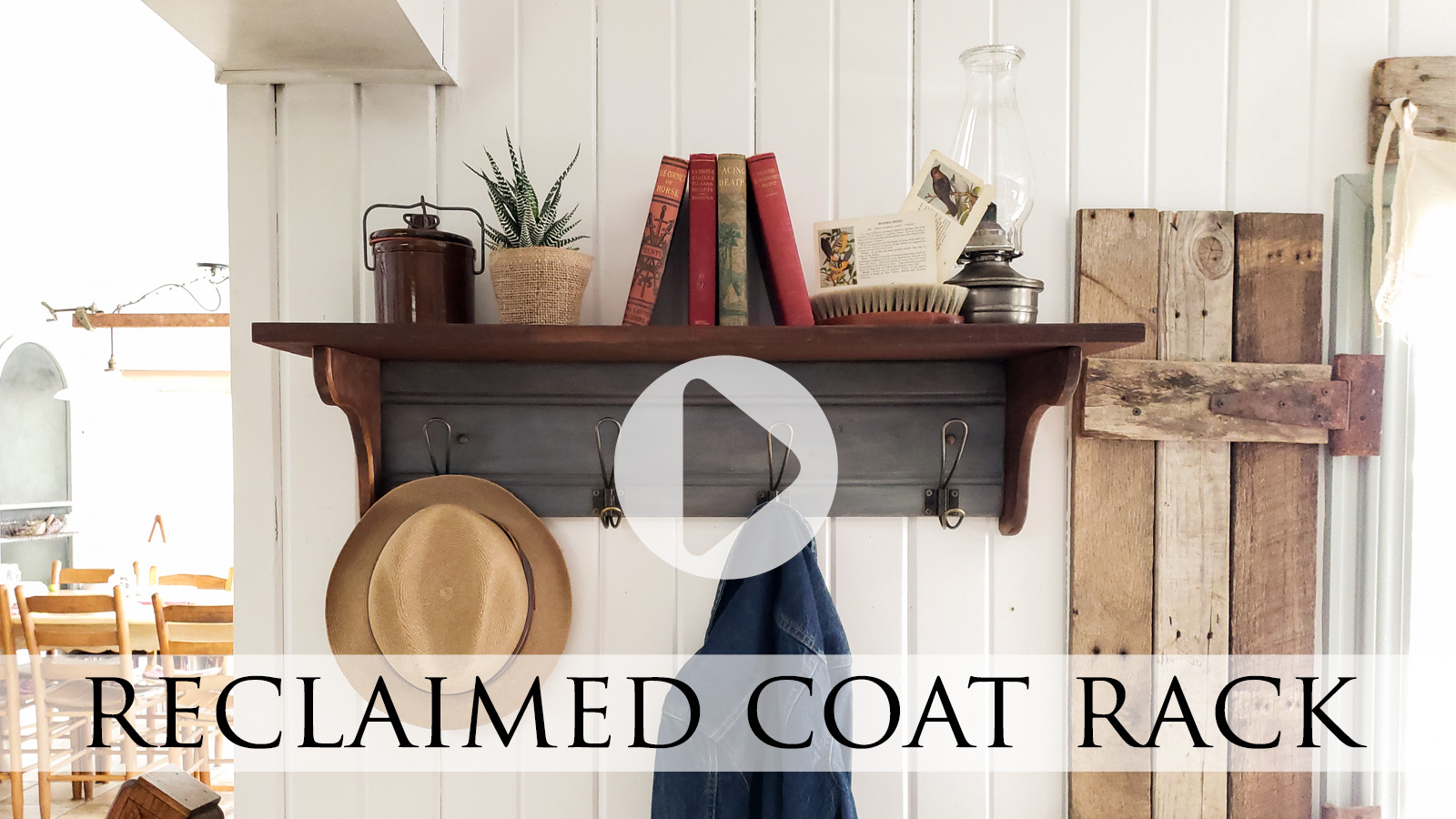 Drawer Front Reclaimed Coat Rack Tutorial by Larissa of Prodigal Pieces | prodigalpieces.com