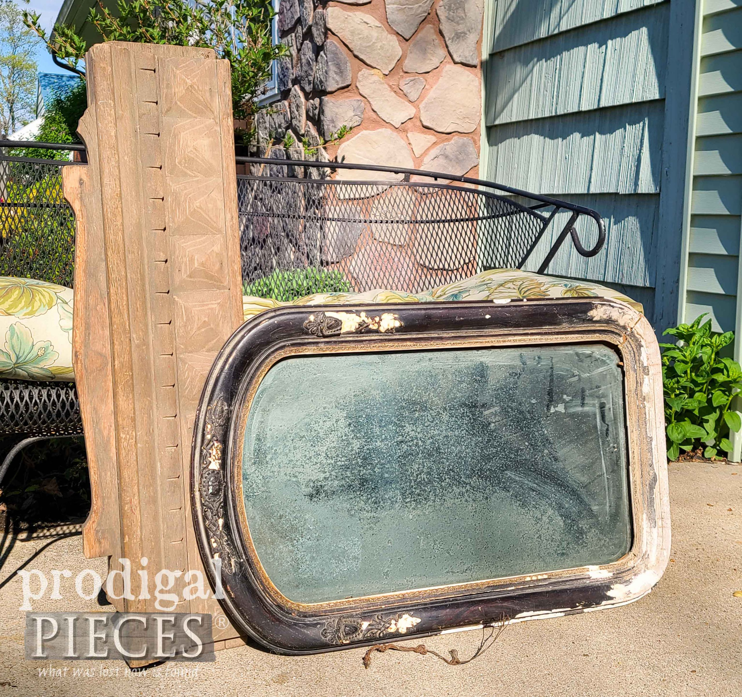 Salvaged Decor Before Fixin' Up by Prodigal Pieces | prodigalpieces.com