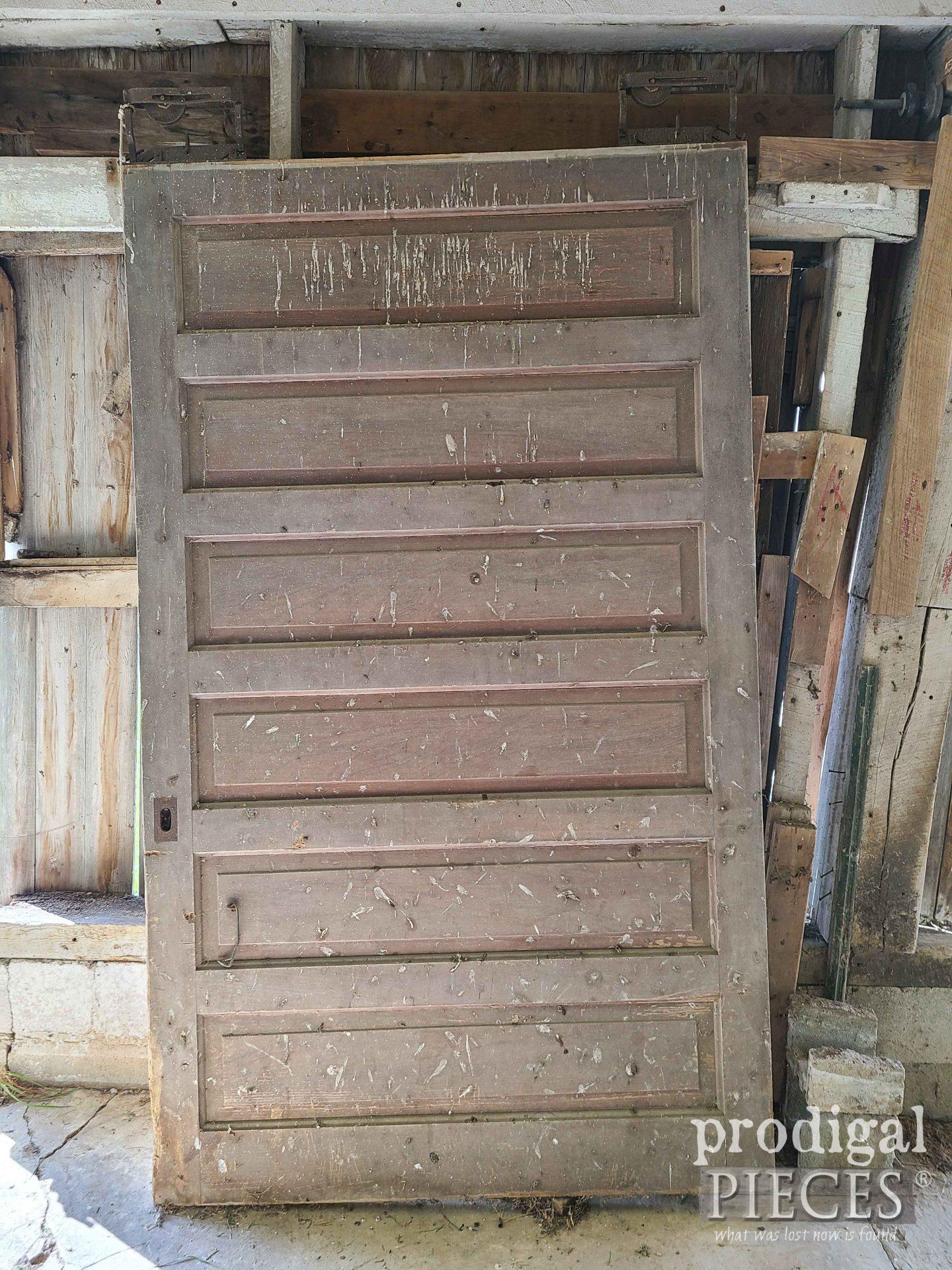 Antlque Sliding Barn Door | prodigalpieces.com