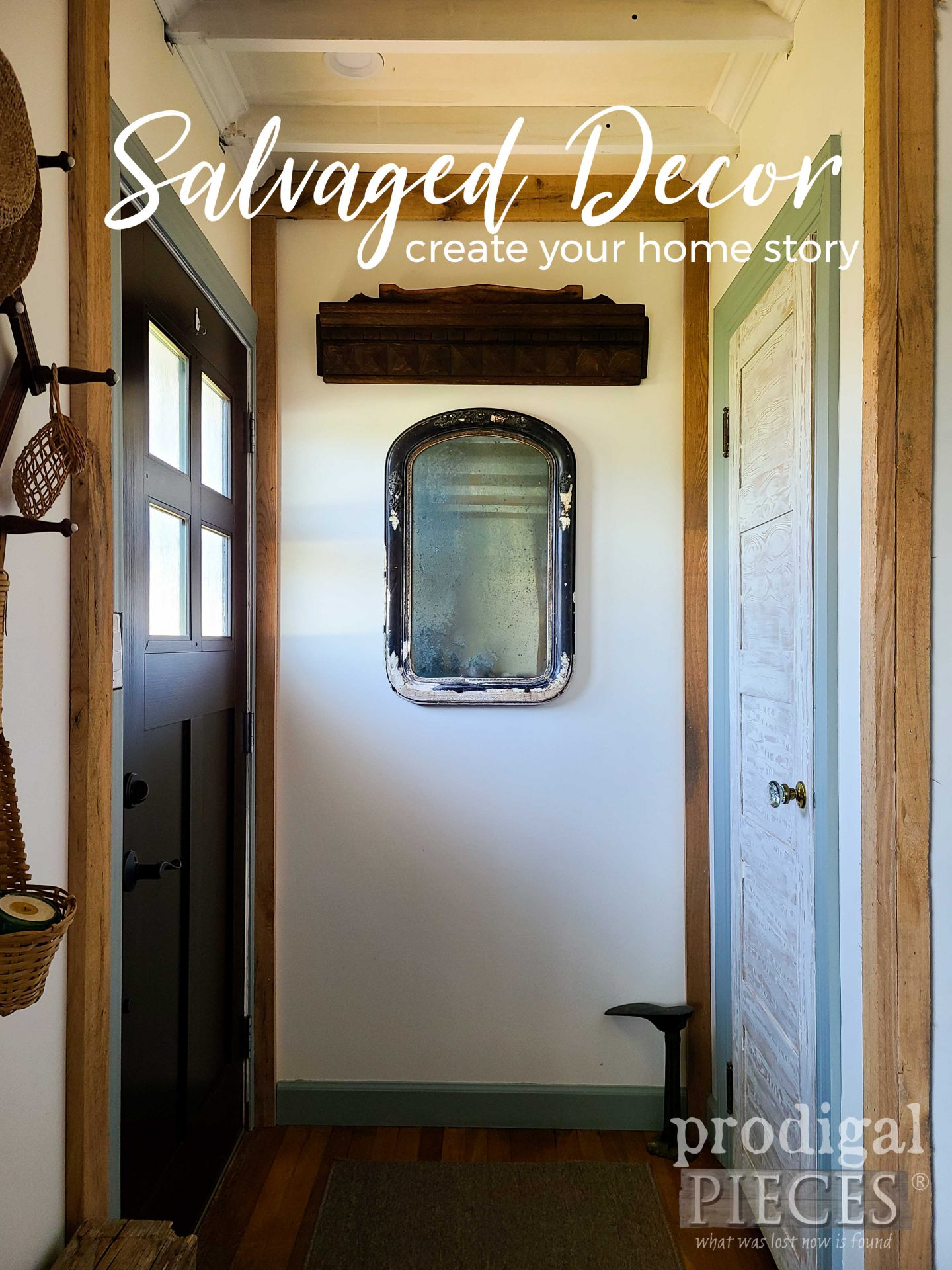 DIY Savaged Decor with Antique Finds by Larissa of Prodigal Pieces | Create your own home story | prodigalpieces.com #prodigalpieces #home #homedecor
