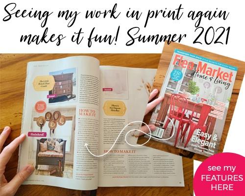 Larissa of Prodigal Pieces featured in Flea Market Home & Style Magazine Summer 2021 | prodigalpieces.com #prodigalpieces