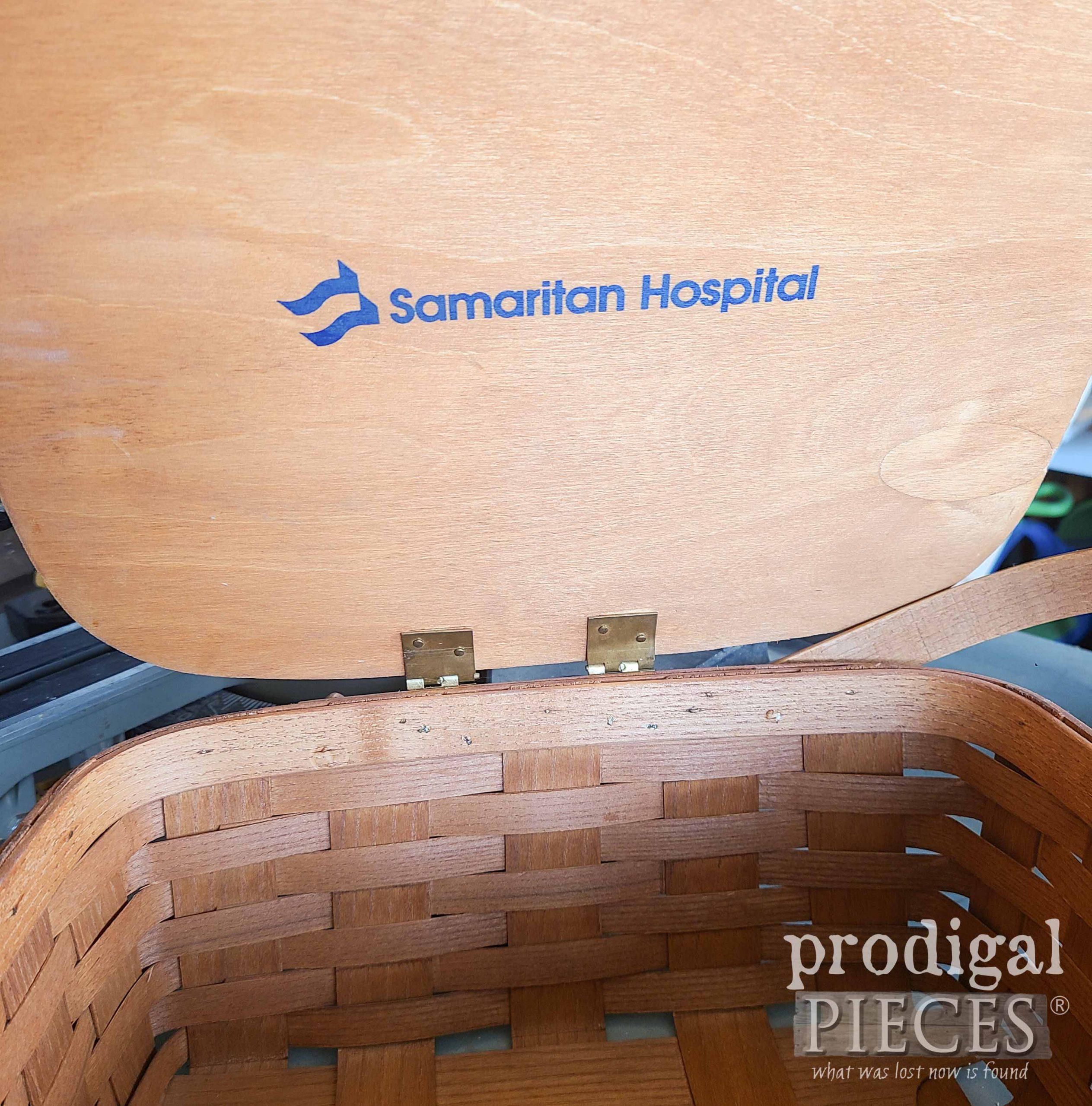 Inside Picnic Basket Lid | prodigalpieces.com