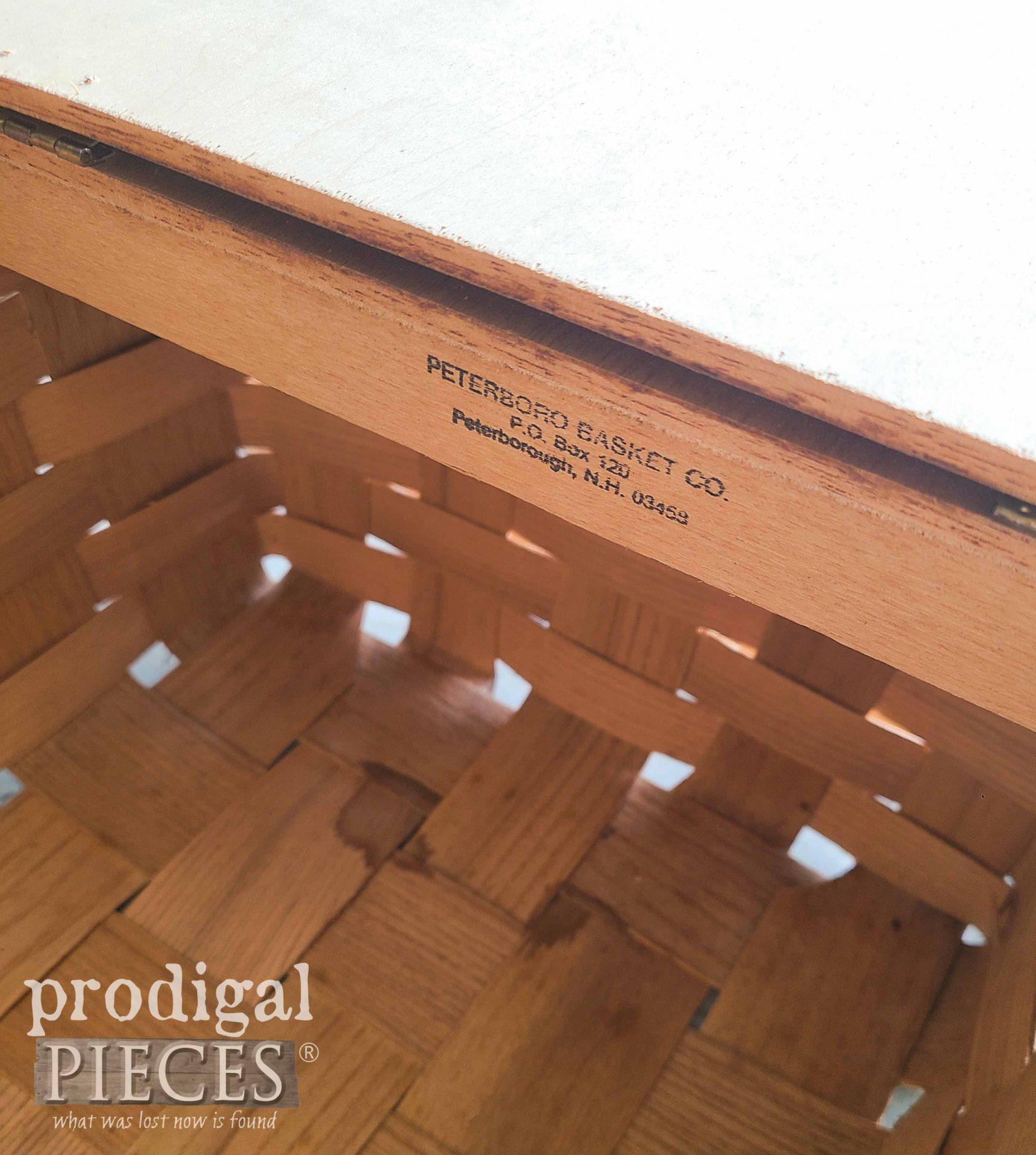 Peterboro Picnic Basket | prodigalpieces.com