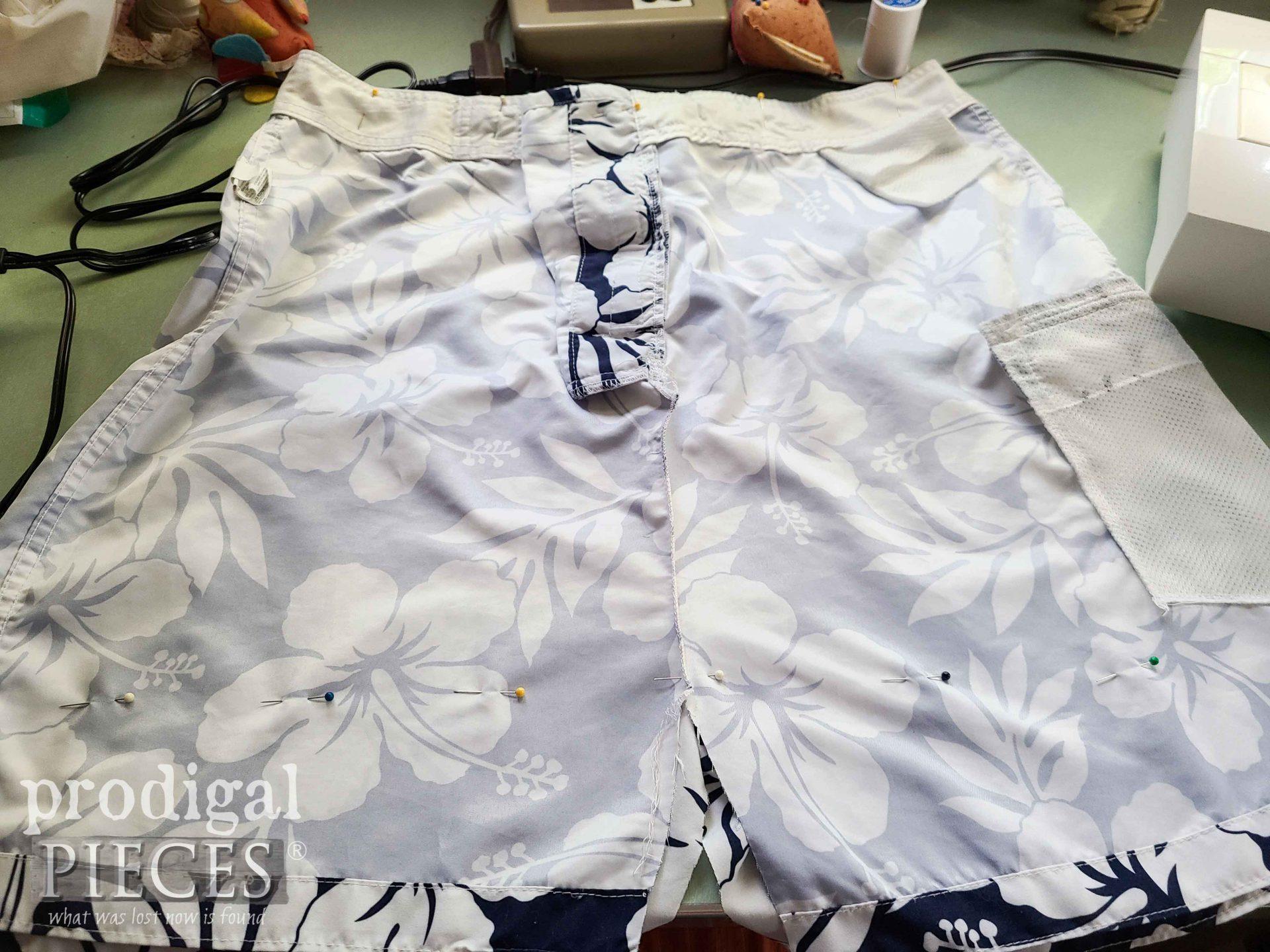 Pinned Swimsuit Trunks Bottom   prodigalpieces.com