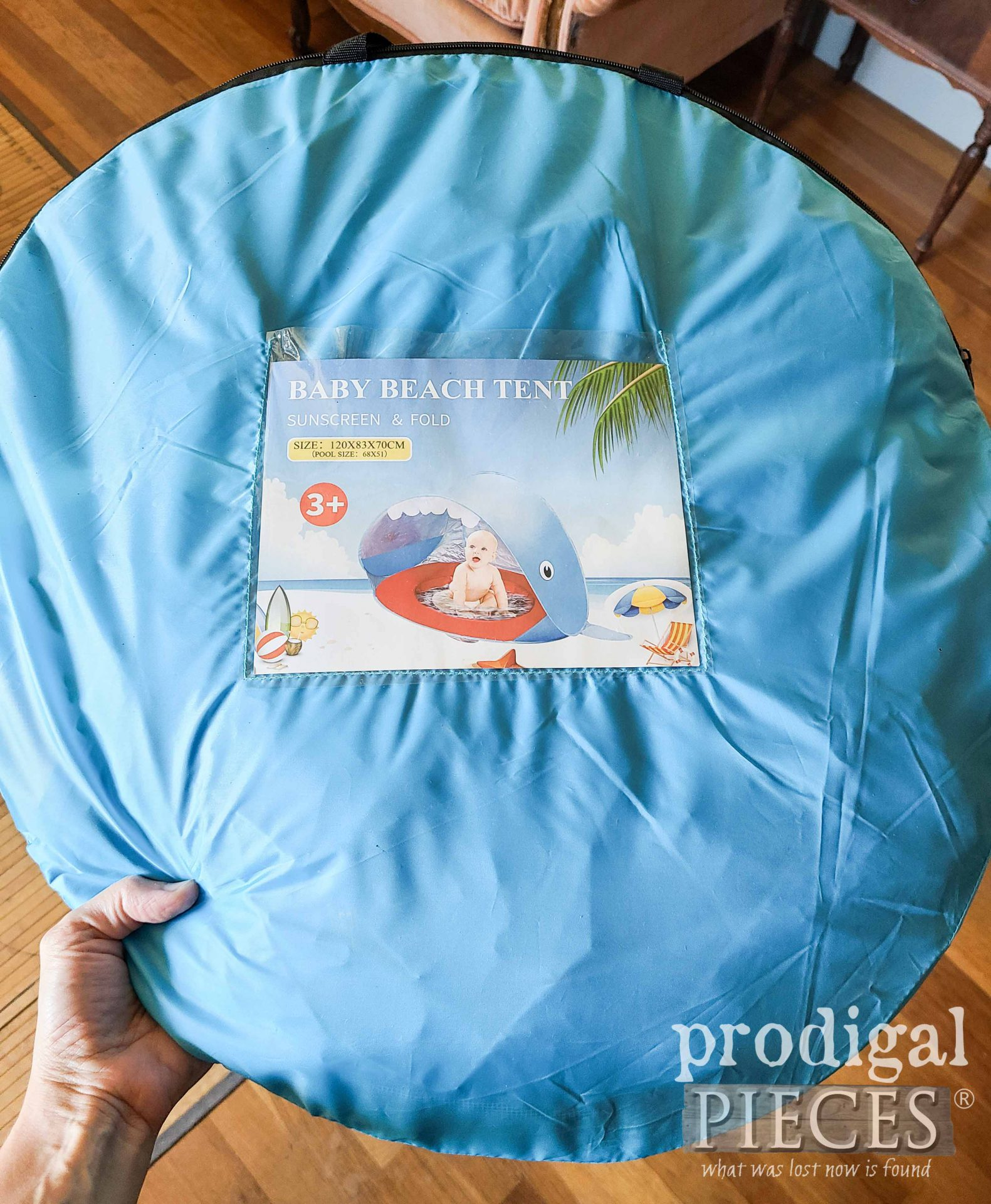 Sun Tent for Baby Upcycled | prodigalpieces.com