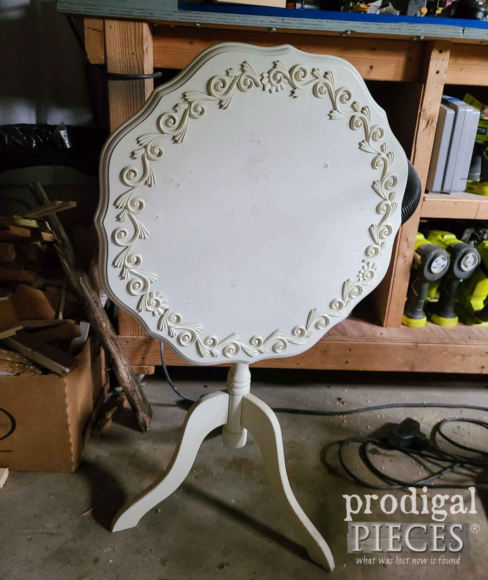 Tilt Table Before | prodigalpieces.com