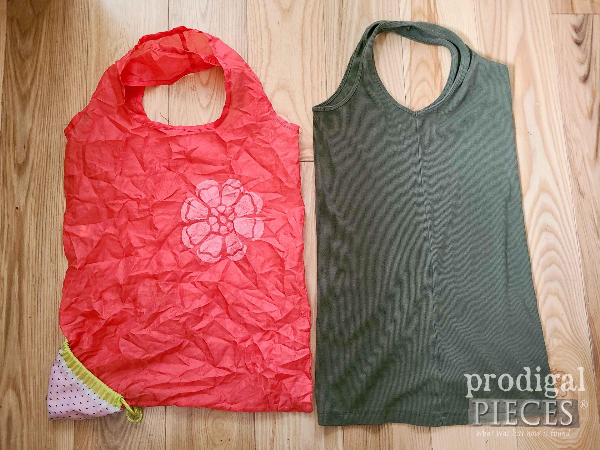 Reusable Bag and Tank Top   prodigalpieces.com