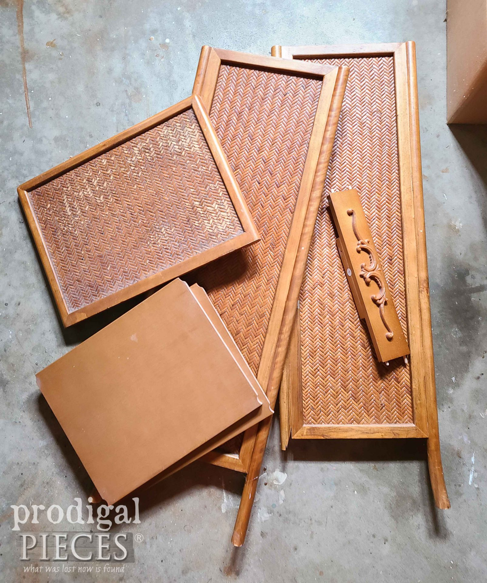 Broken Furniture Stand in PIeces | prodigalpieces.com