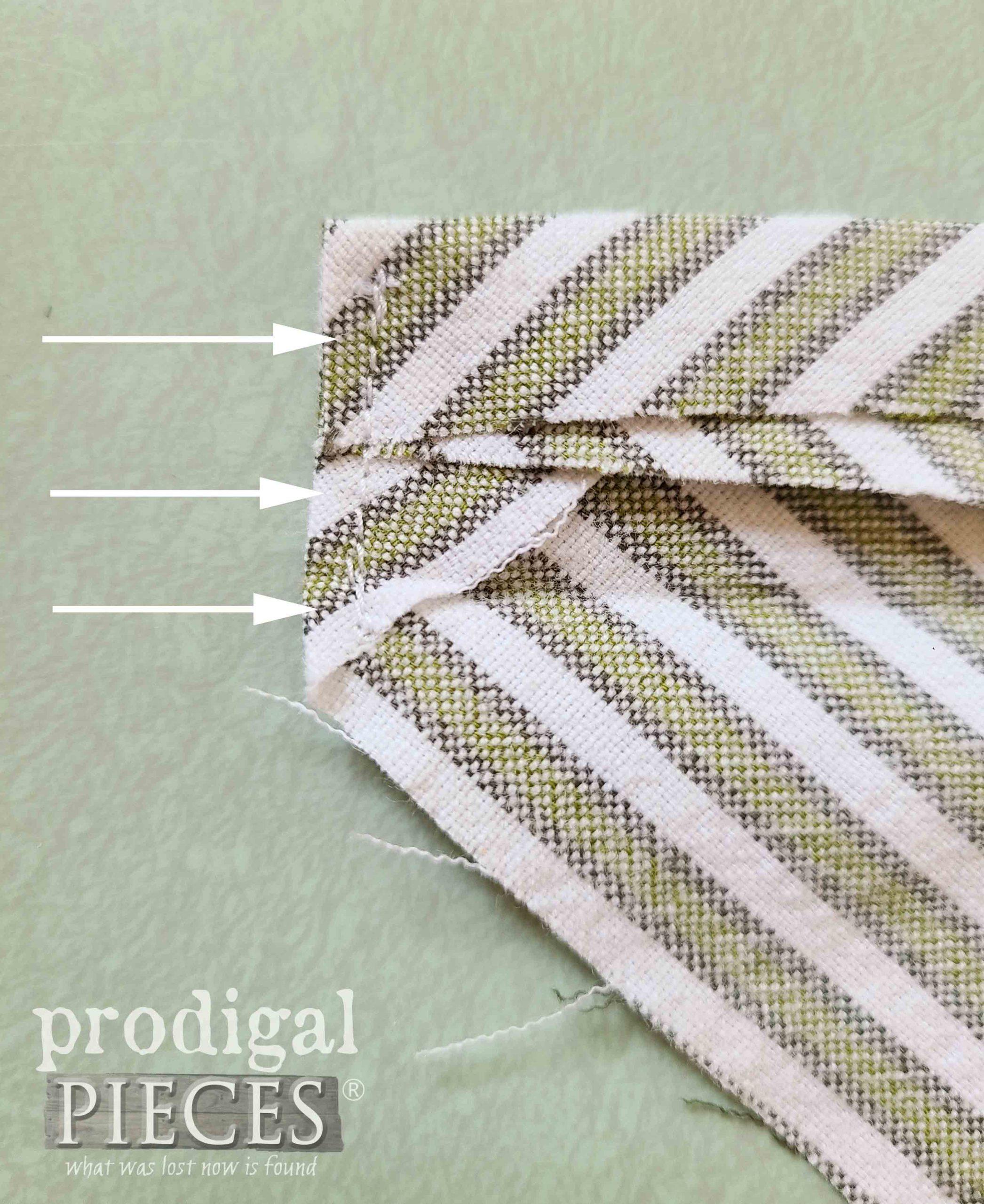 Edge Seam on Cord Casing for Reusable Shopping Bag   prodigalpieces.com