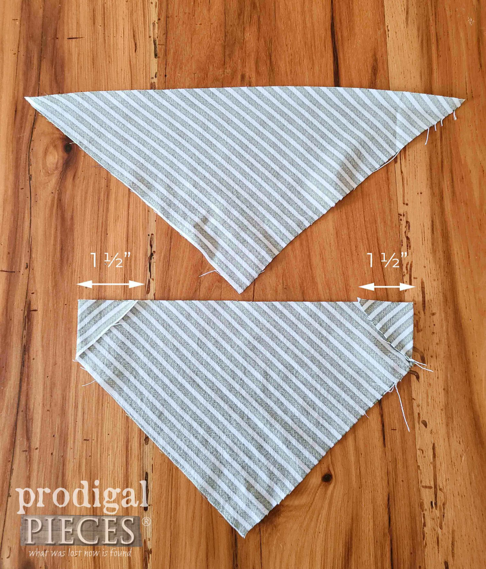 First Fold Corner of Compact Bag   prodigalpieces.com