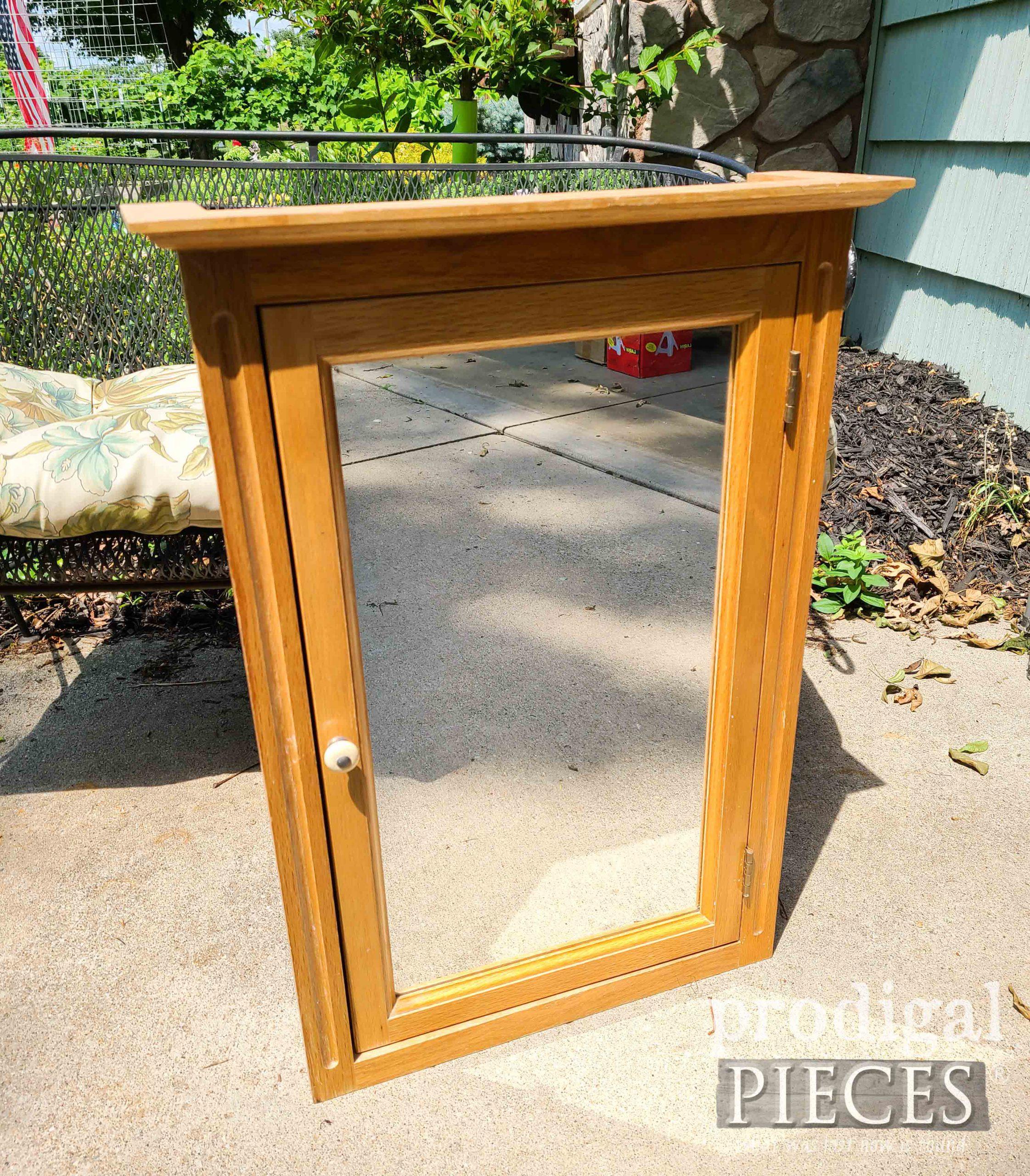 Medicine Cabinet Before | prodigalpieces.com