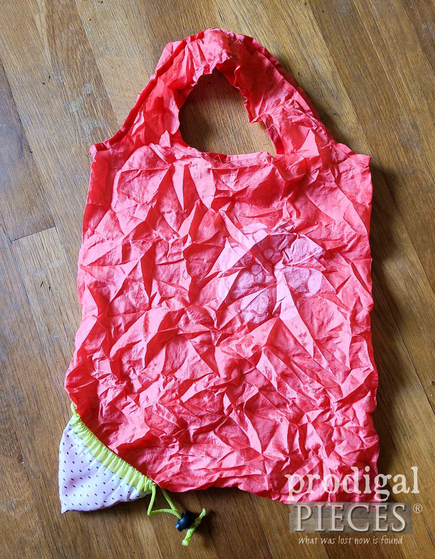 Open Reusable Compact Shopping Bag Found   prodigalpieces.com