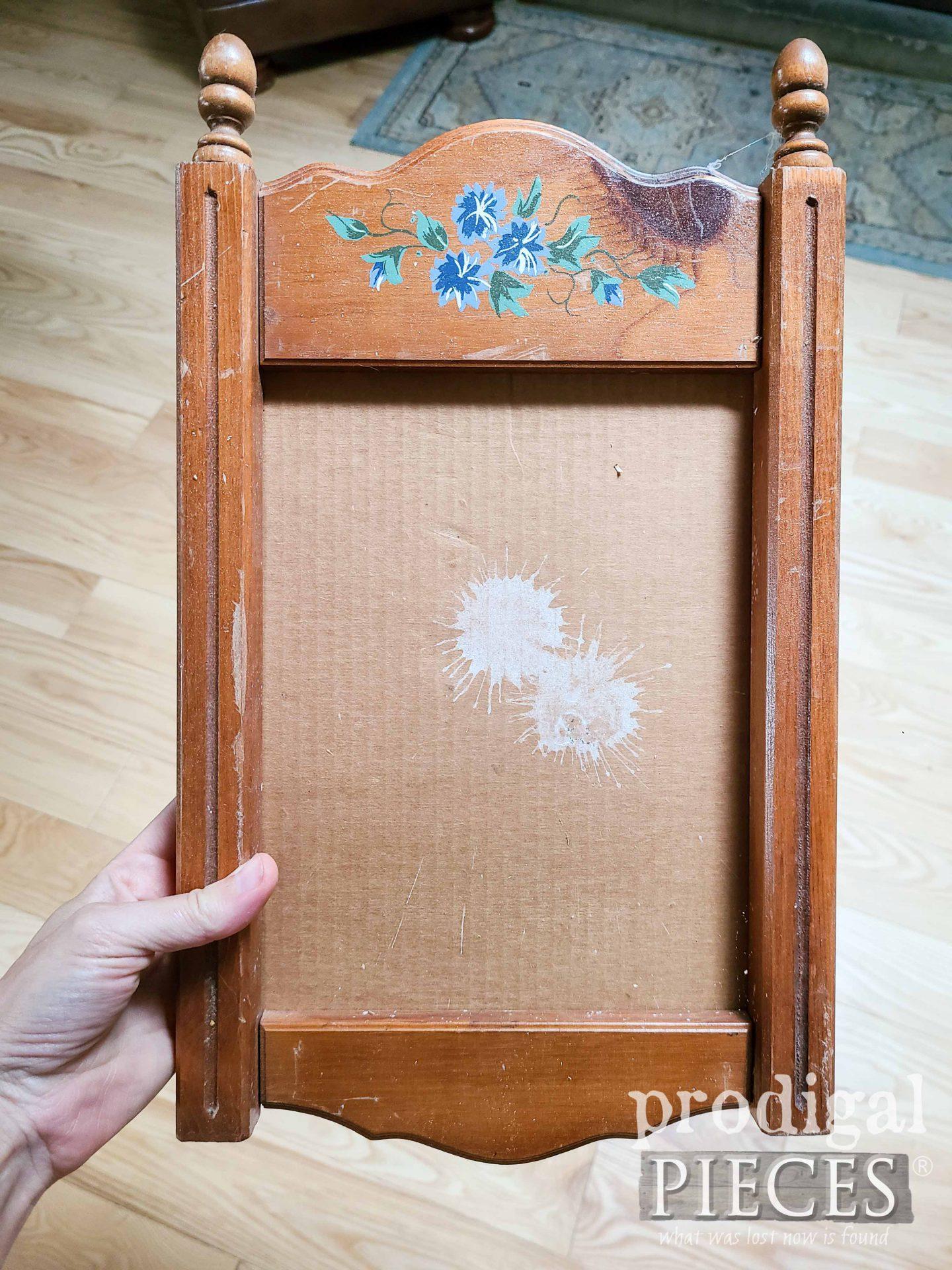 Thrifted Frame Before Makeover by Prodigal Pieces | prodigalpieces.com