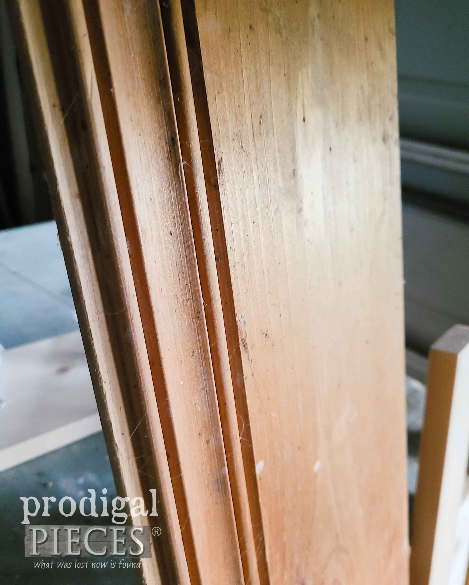Tongue & Groove Reclaimed Pine Board by Prodigal Pieces | prodigalpieces.com