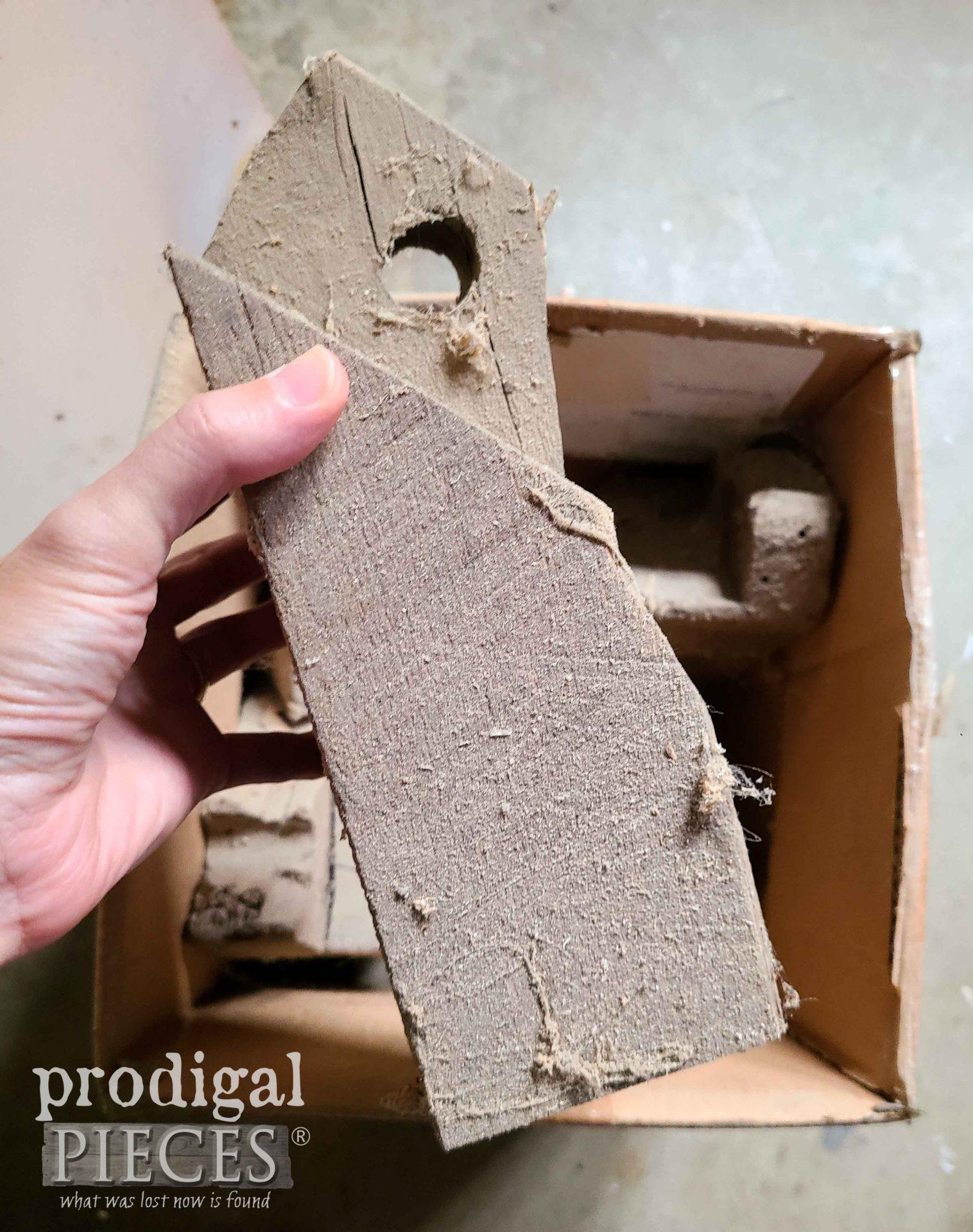 Cut Scrap of Reclaimed Barn Beam | prodigalpieces.com