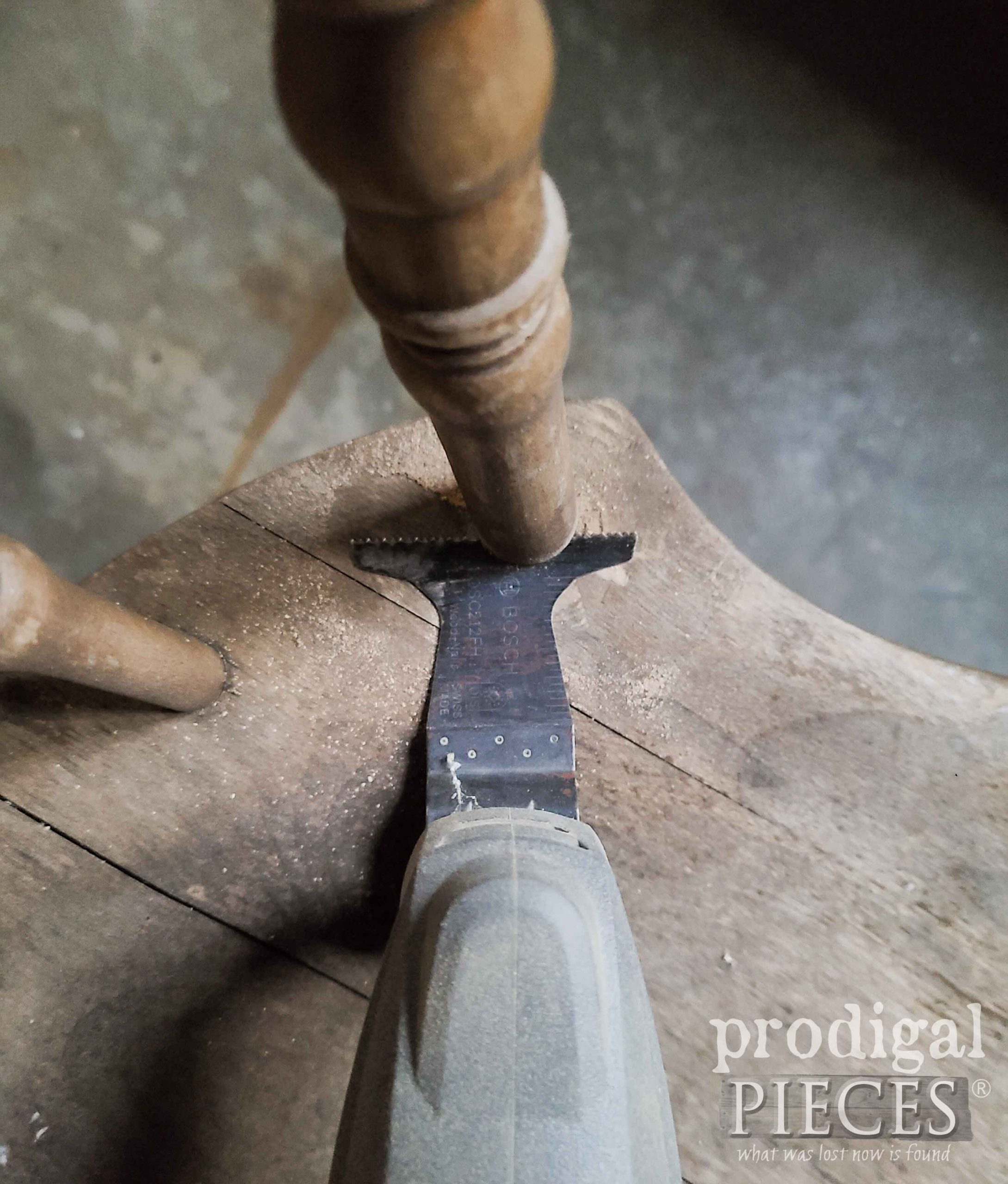 Cutting Chair Back Spindles | prodigalpieces.com