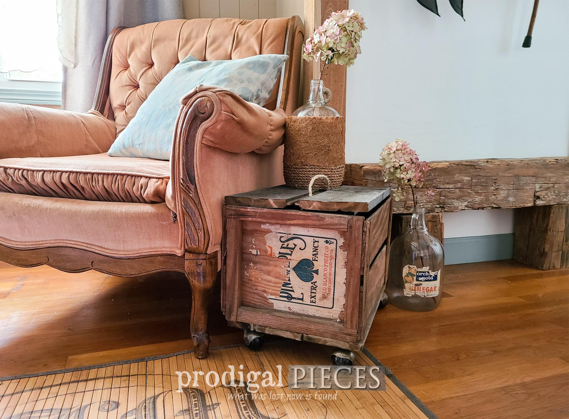 Featured DIY Flea Market Farmhouse Decor by Larissa of Prodigal Pieces   prodigalpieces.com #prodigalpieces #diy #farmhouse #fleamarket #home #homedecor